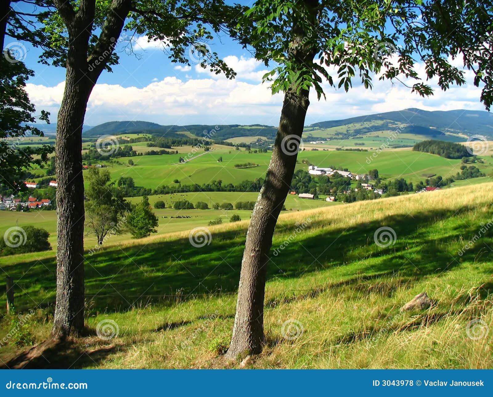 Tschechischer Berg