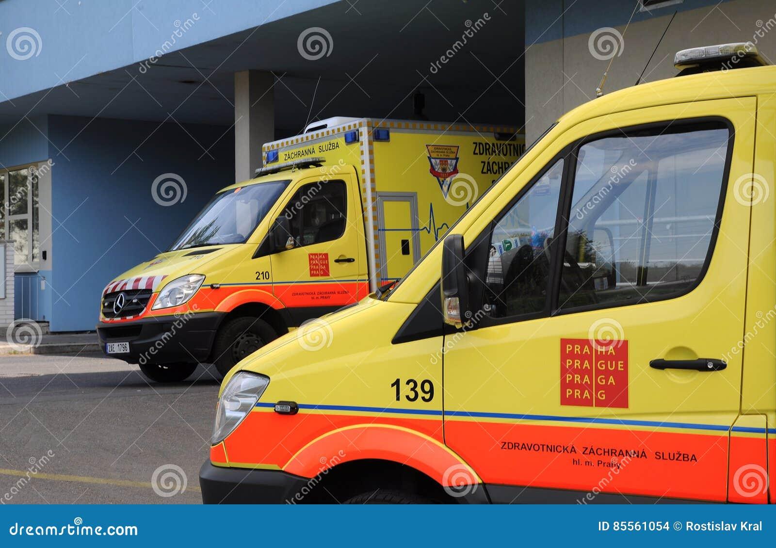 Tschechischer Krankenwagen
