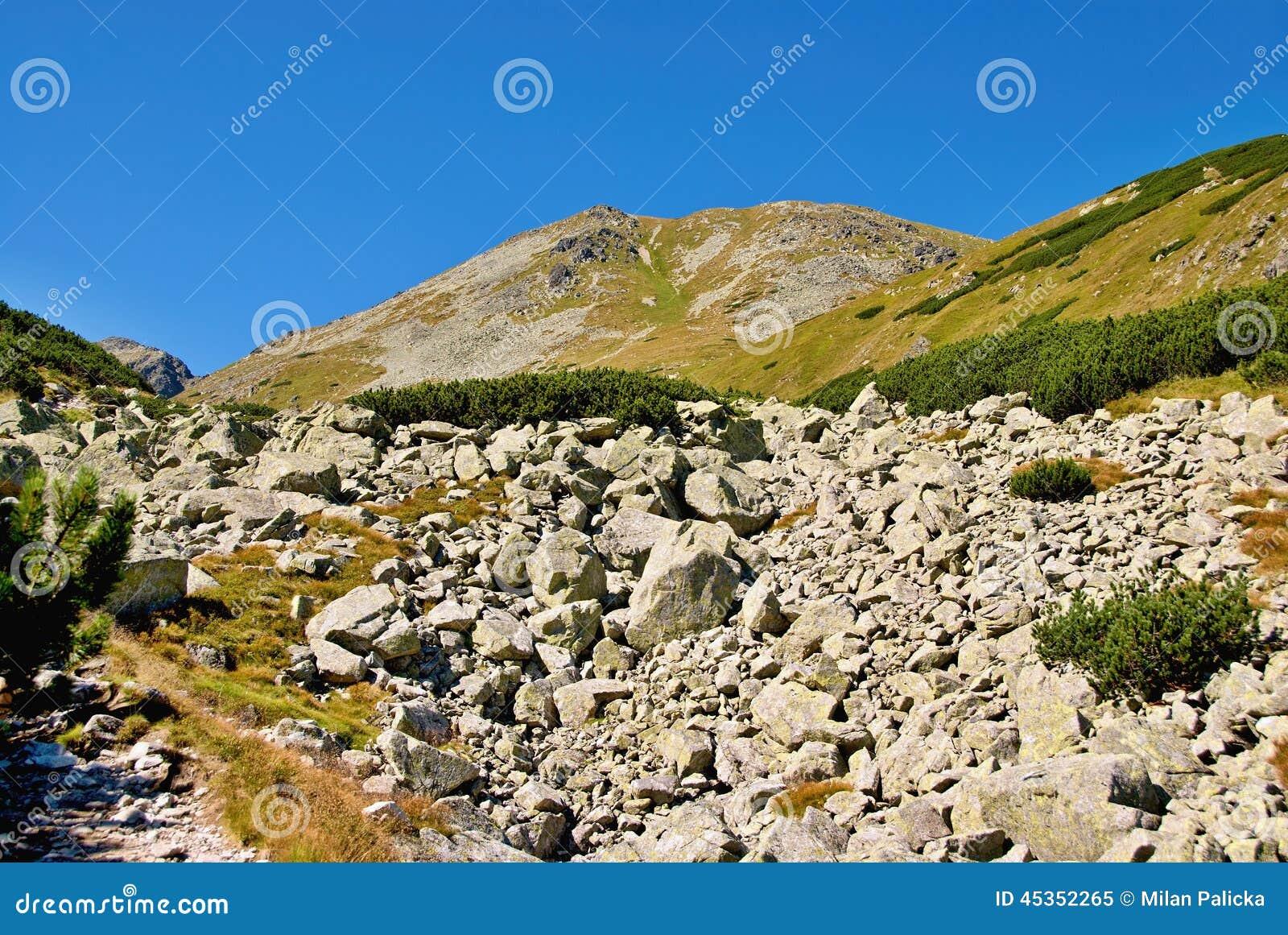 Tsey d ossetia de hautes montagnes de Caucase