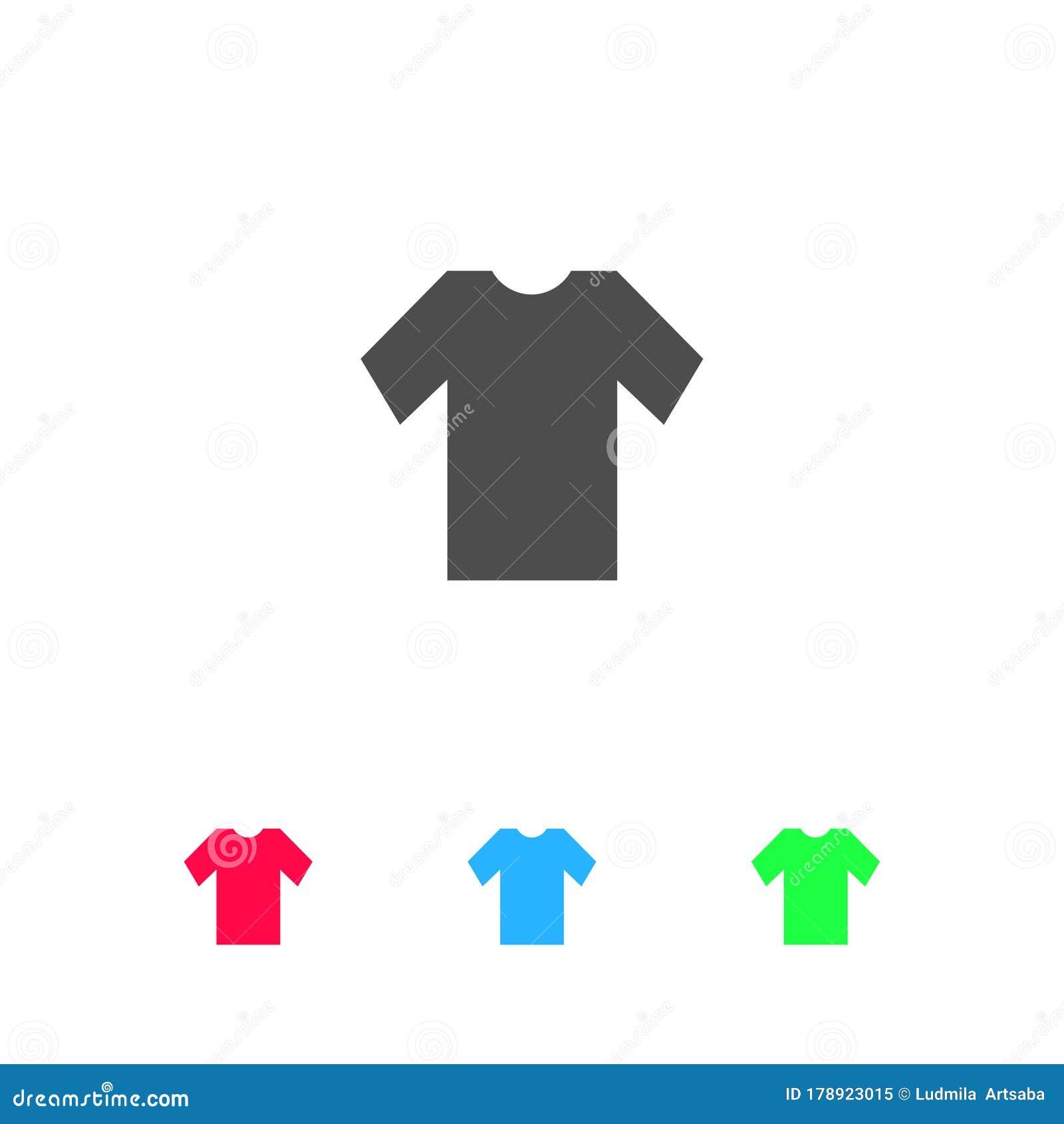 tshirt icon flat stock illustration illustration of fashionable 178923015 tshirt icon flat stock illustration illustration of fashionable 178923015