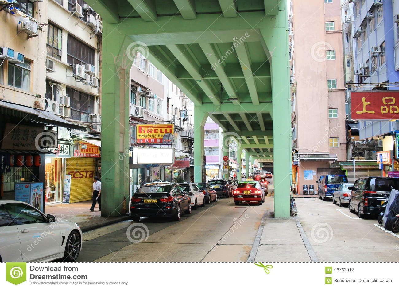 Tsing Fung Street Flyover, Tin Hau