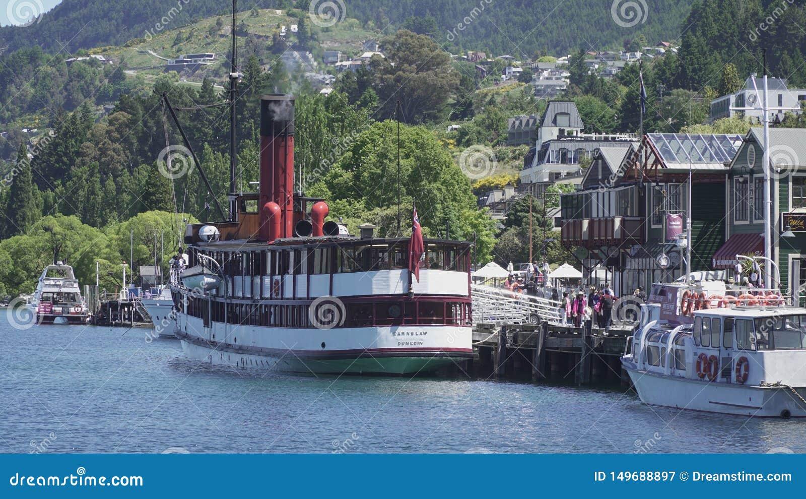 TSS Earnslaw, Queenstown, Nueva Zelanda