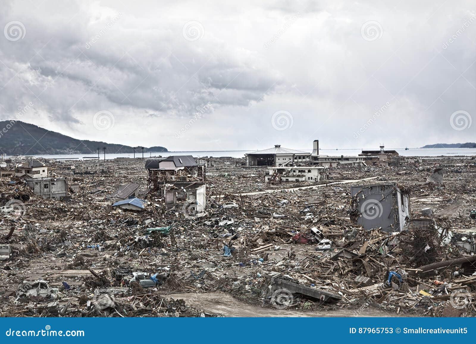 Tsunami japão fukushima 2011