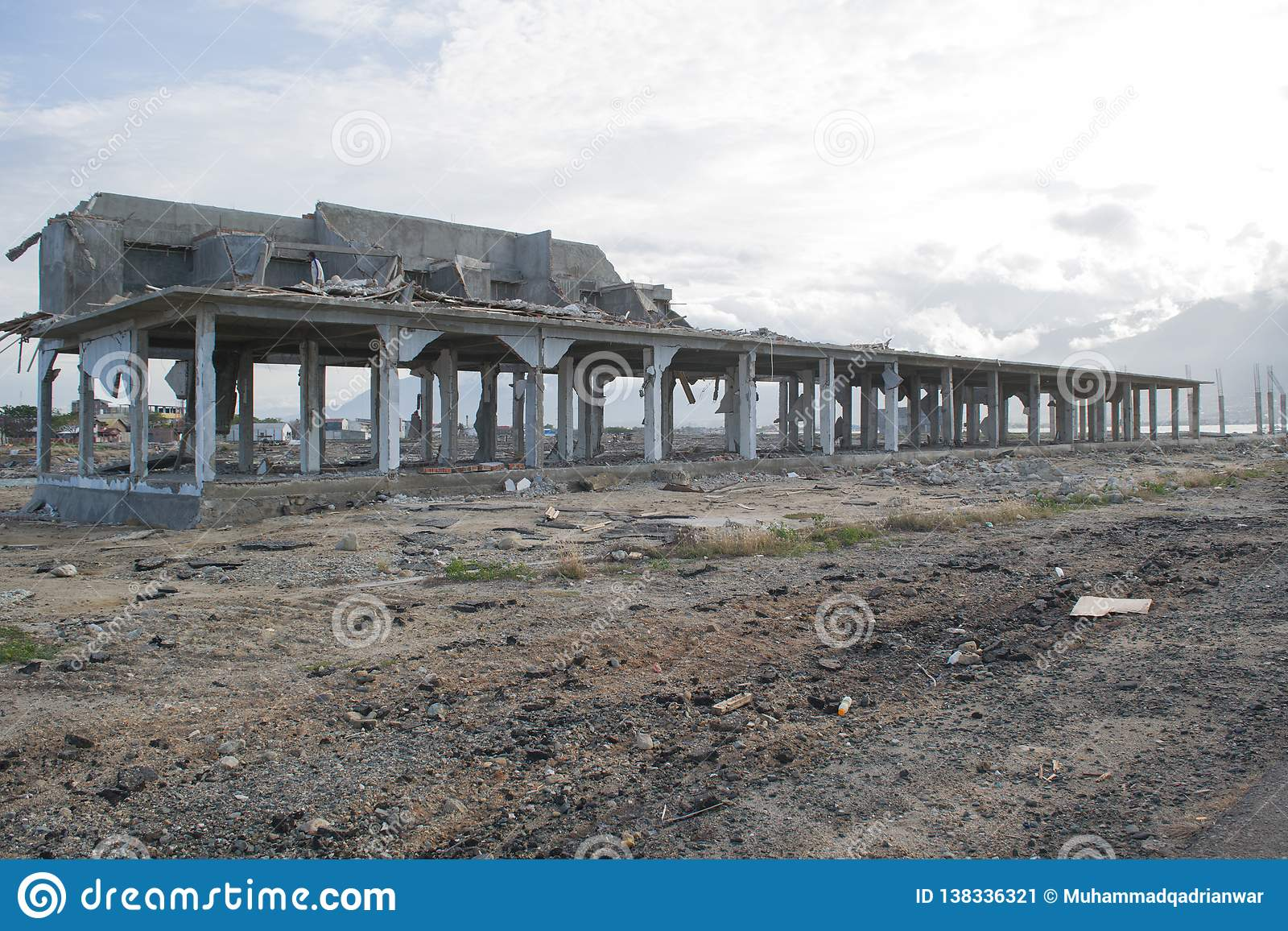 Tsunamiskada i Palu Coastal Area