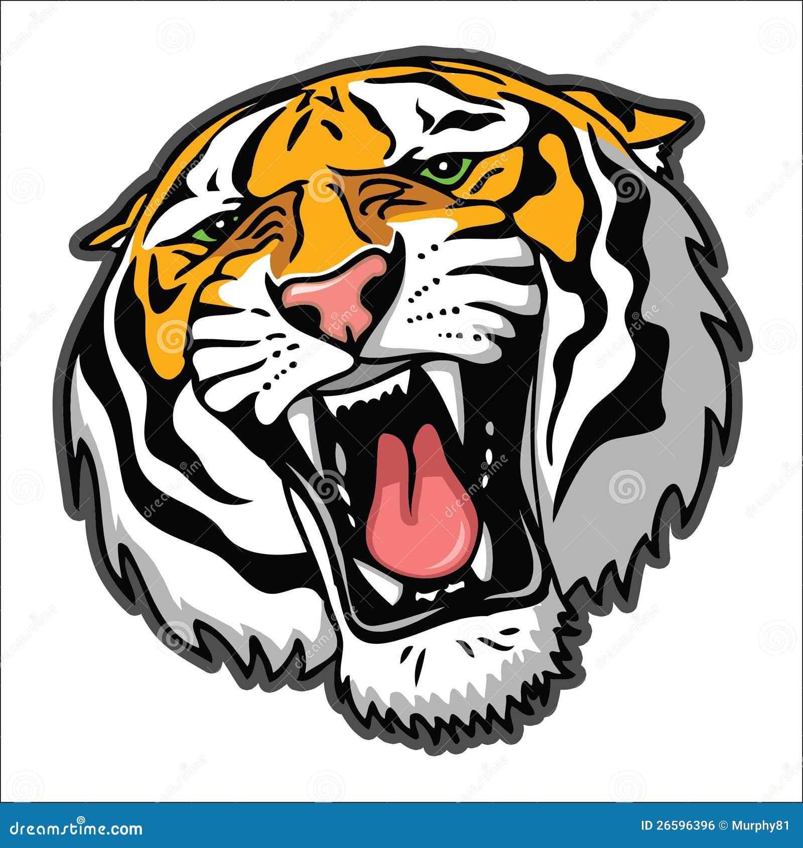 T te de tigre image libre de droits image 26596396 - Image tete de tigre ...