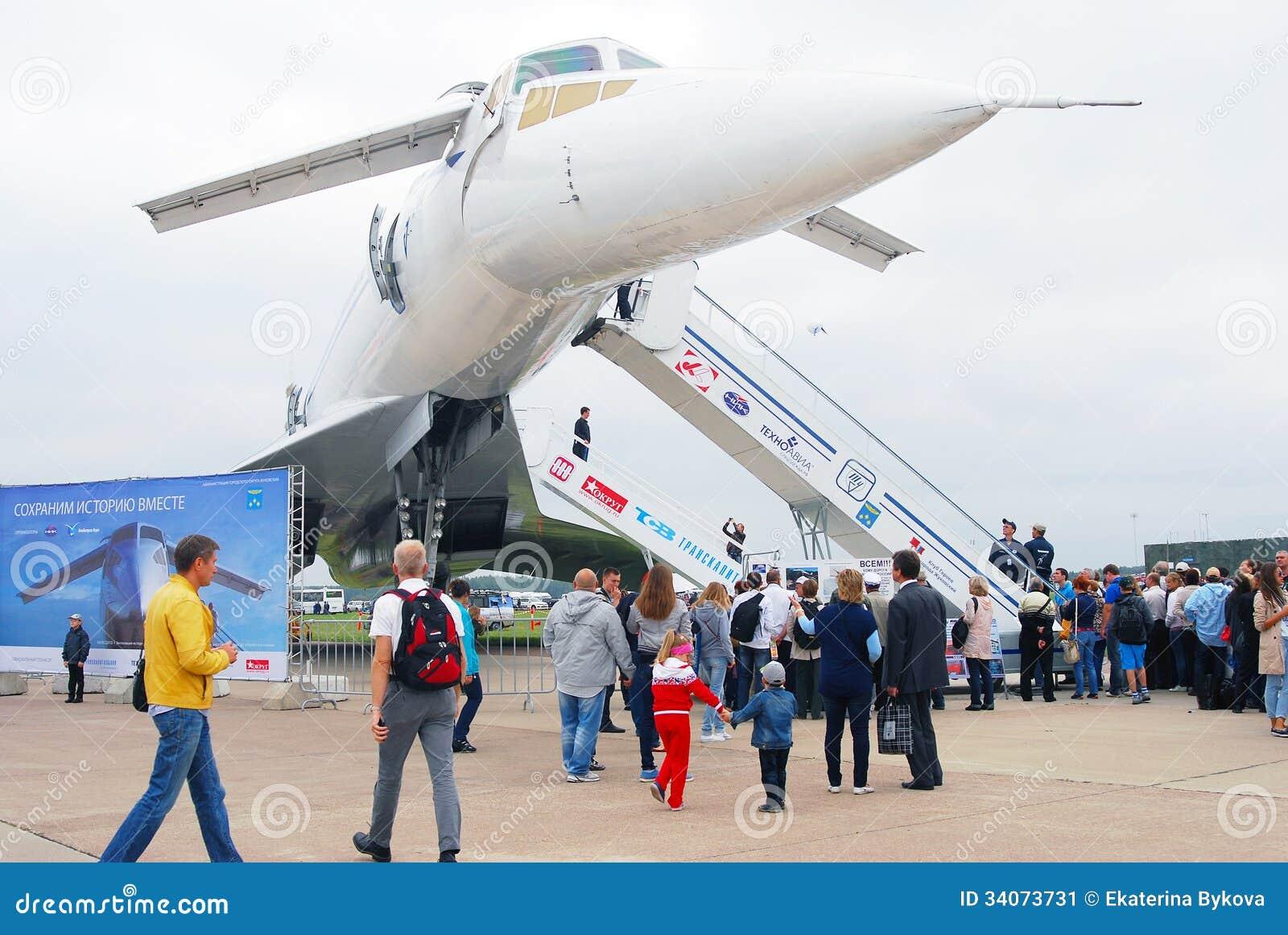 TU-144 salon aérospatial international MAKS-2013