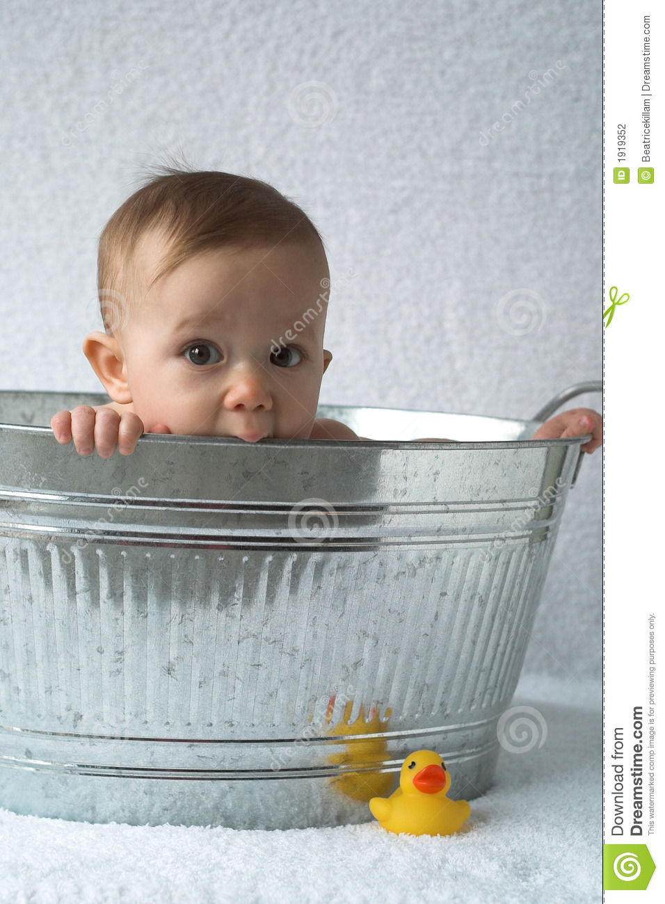 Tub Baby stock photo. Image of little, rubber, light, natural ...