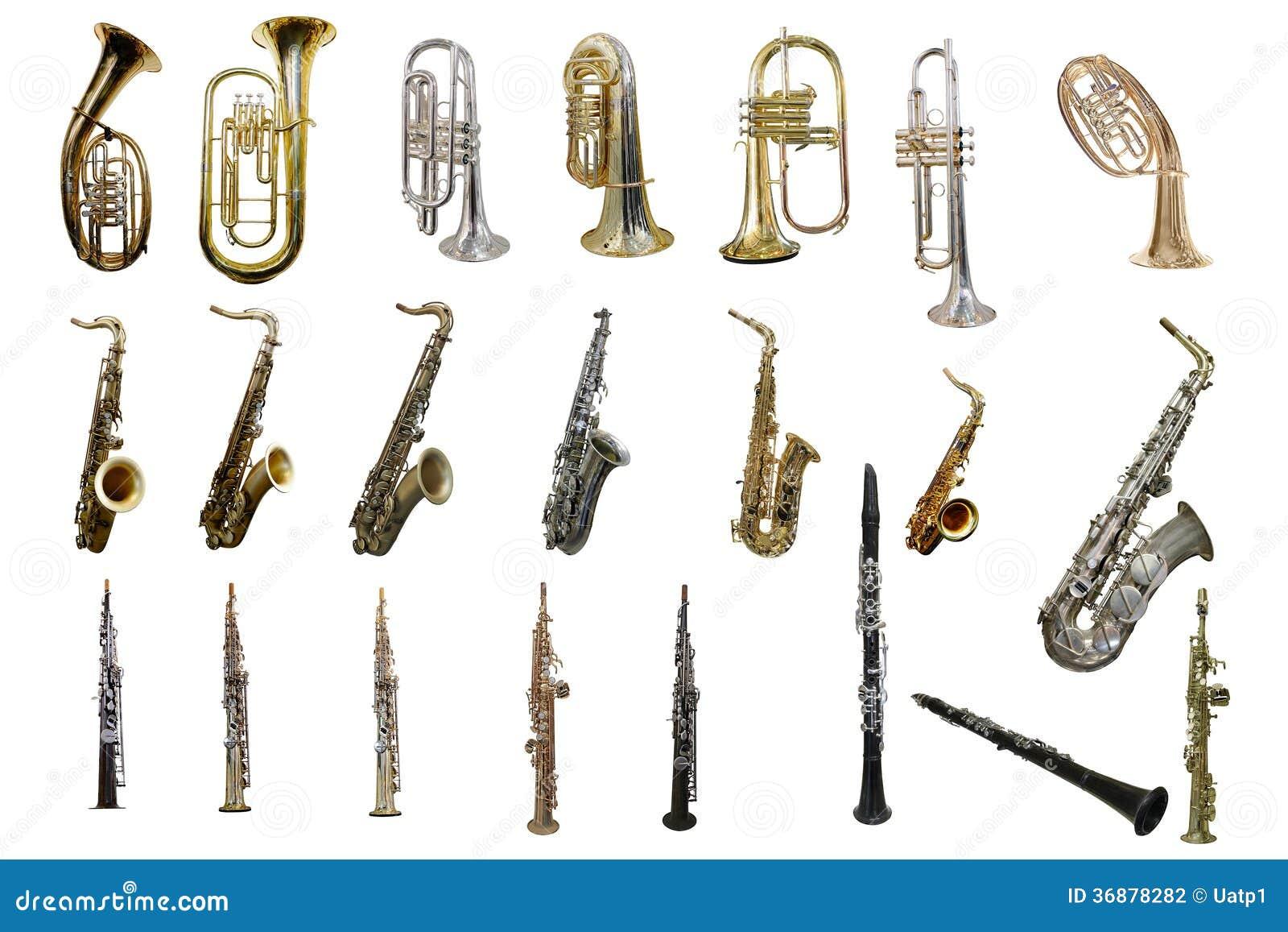 Download Tuba fotografia stock. Immagine di oggetto, saxophone - 36878282