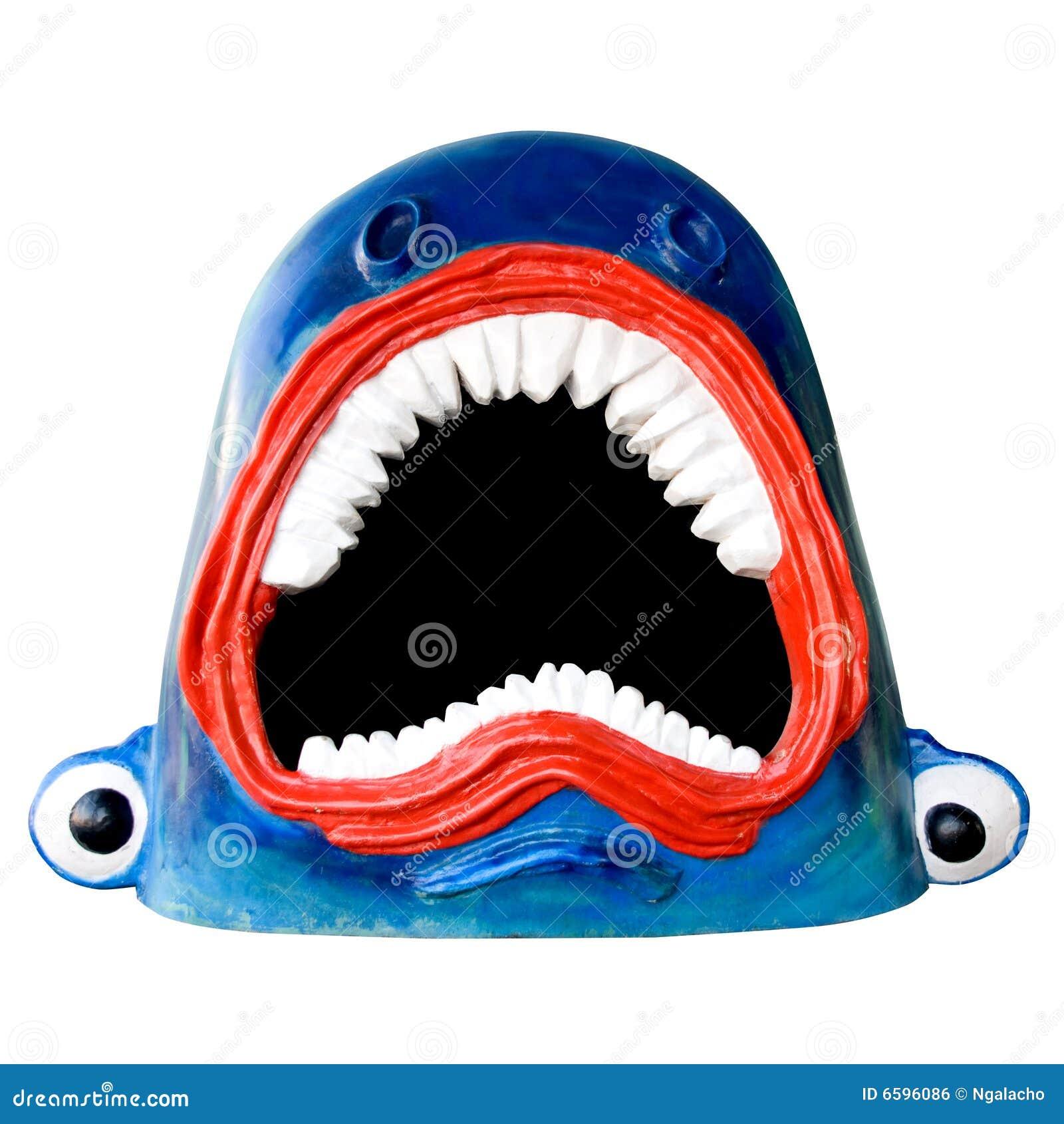 Tubarão engraçado
