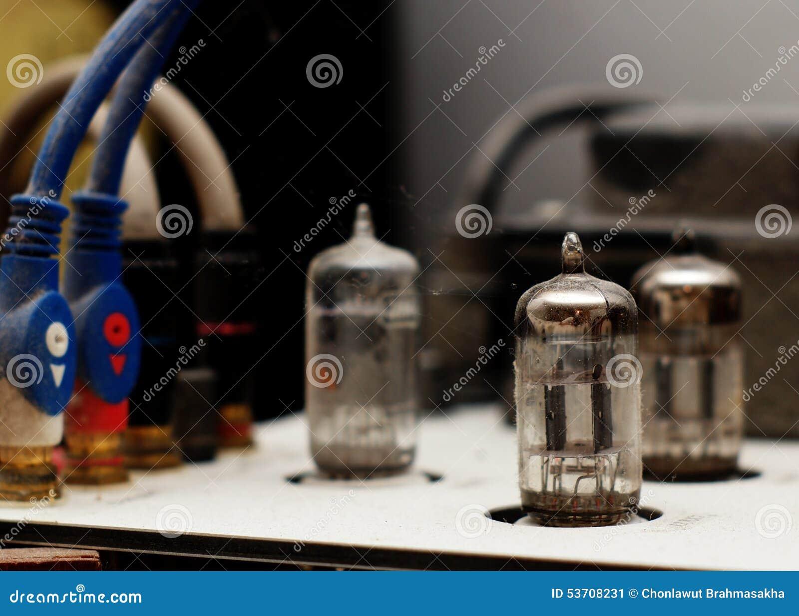 Tube amp stock image  Image of electronics, component - 53708231