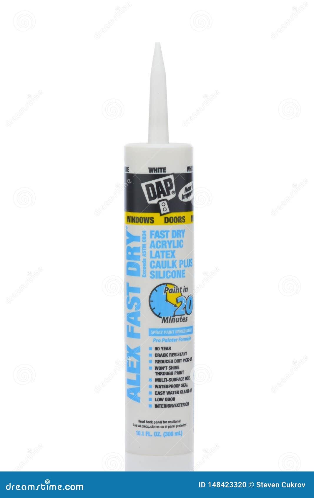 caulk dry How fast latex to