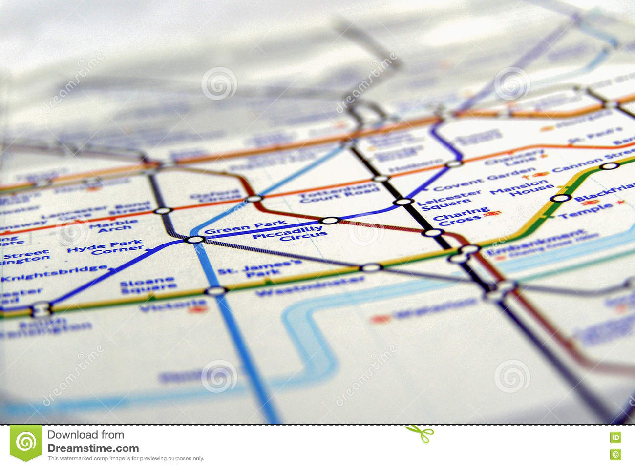 London In England Map.Tube Map Of London Underground Editorial Image Image Of Kingdom