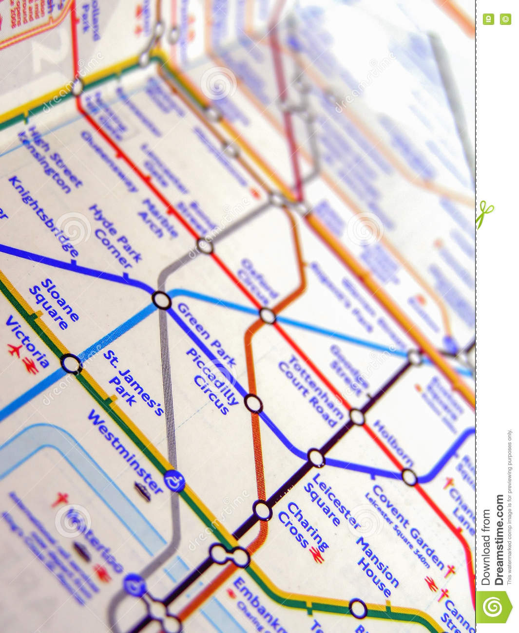 Map Of London England And Surrounding Area.Tube Map Of London Underground Editorial Photo Image Of United