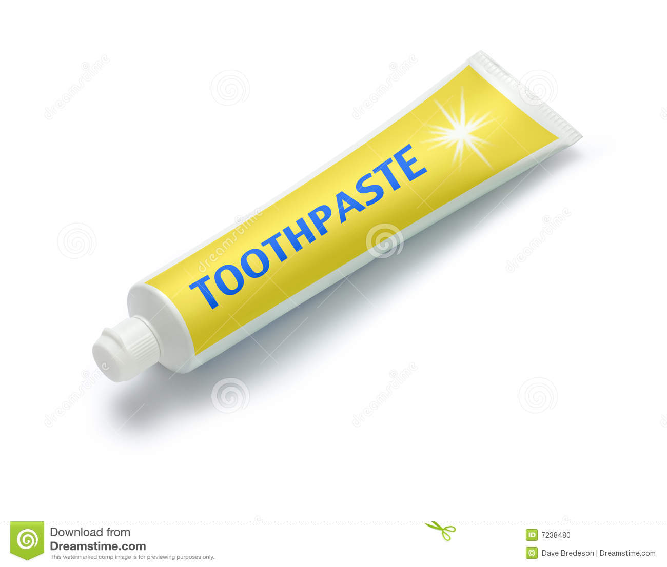 tube of toothpaste stock photo image of isolated tube