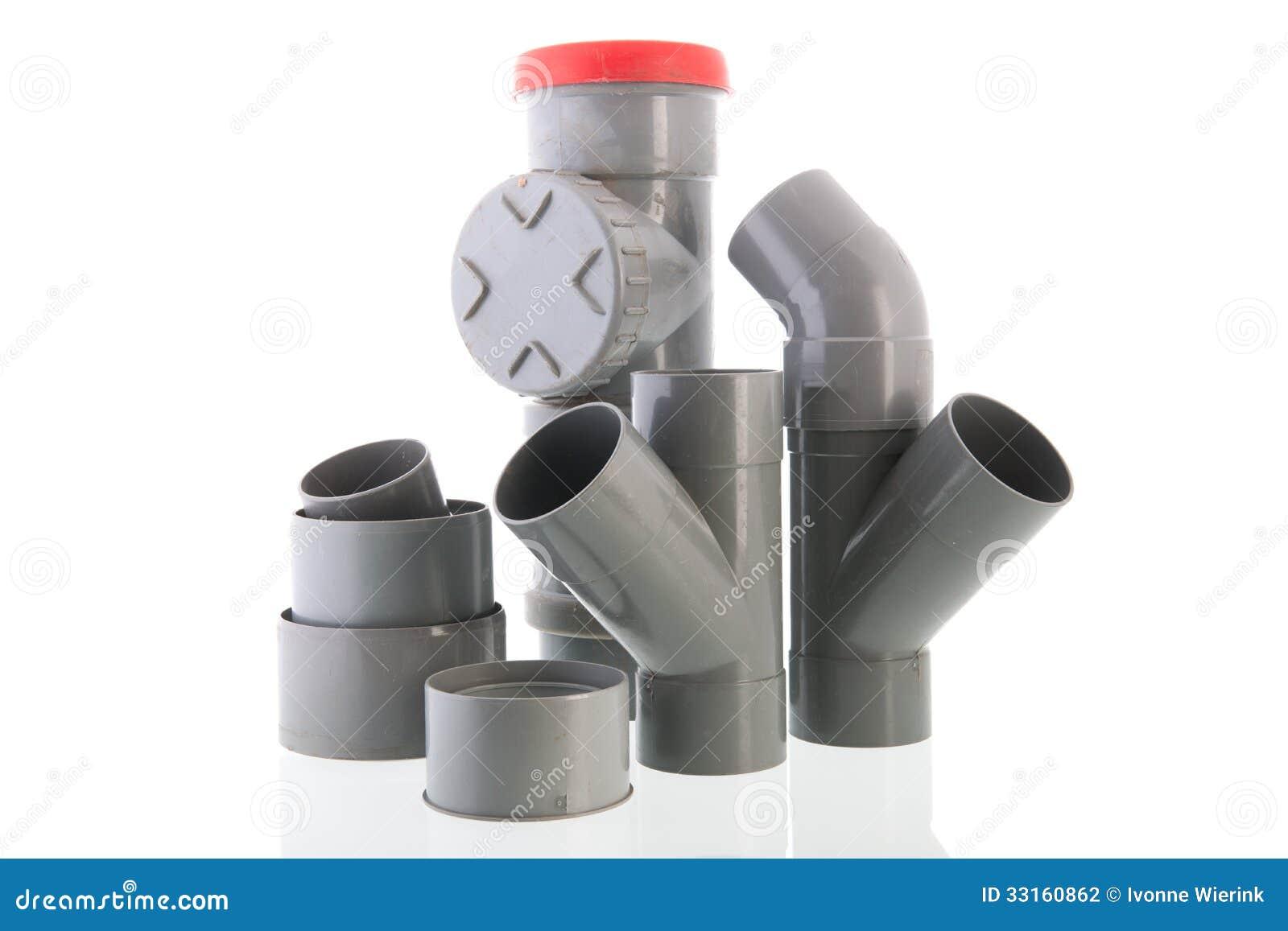 Tube utilisé de PVC