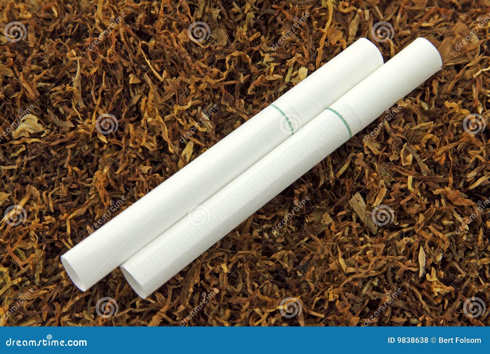 tubes de cigarette et tabac de menthol photo stock image du macro vert 9838638. Black Bedroom Furniture Sets. Home Design Ideas