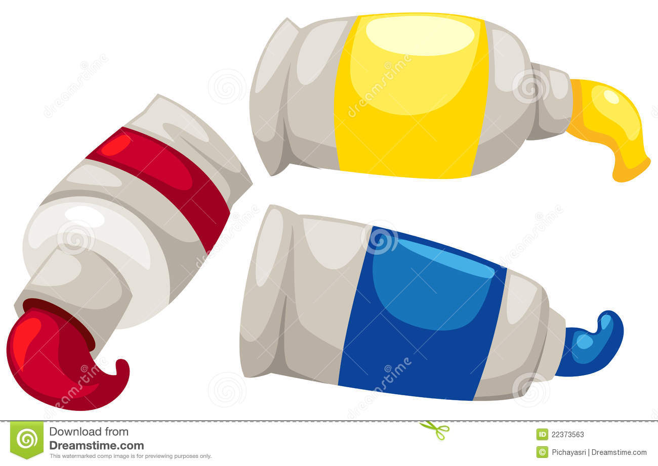 Tubes Of Paint Stock Photos Image: 22373563