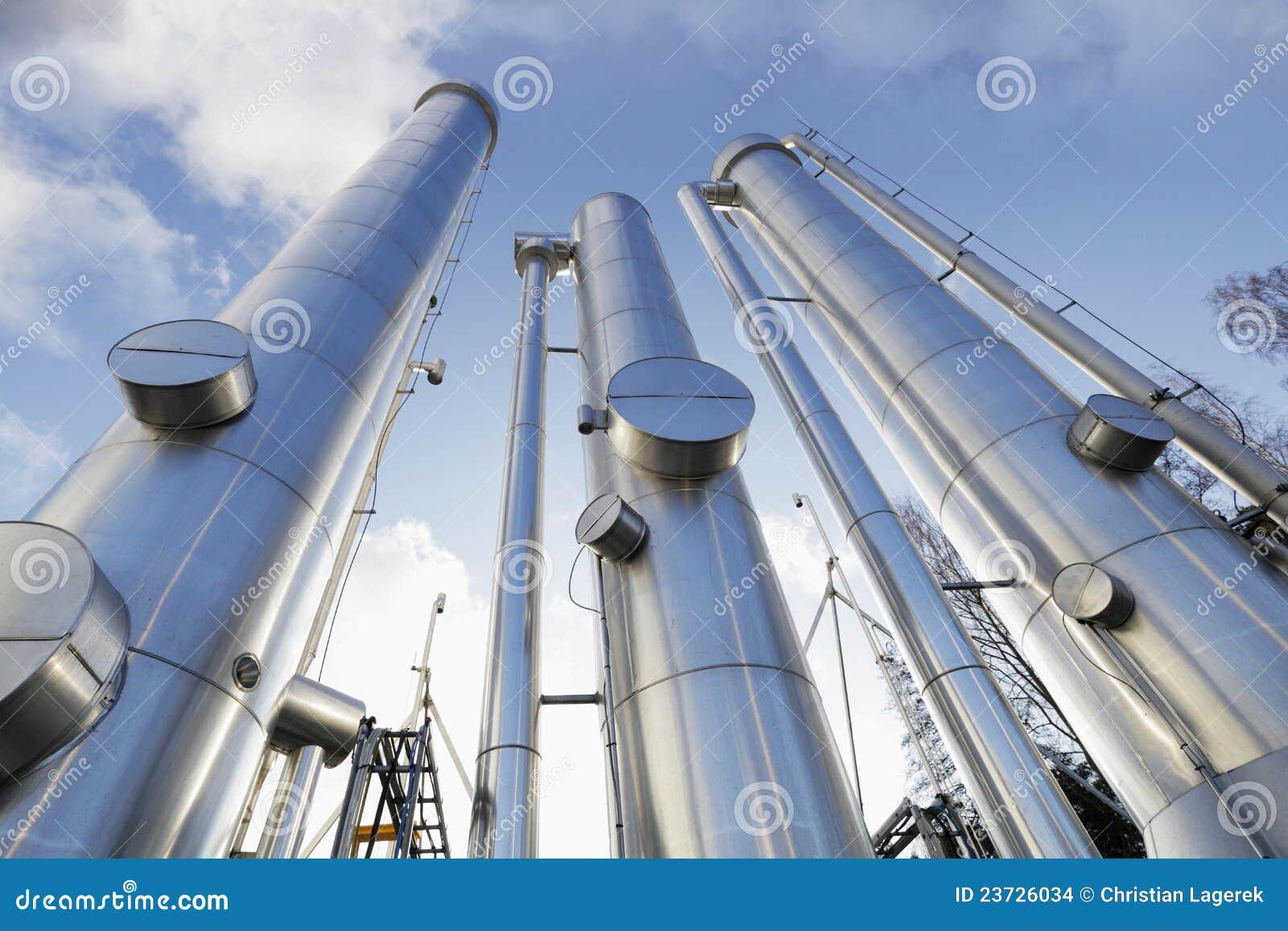 Tubi del petrolio, del gas e di combustibile