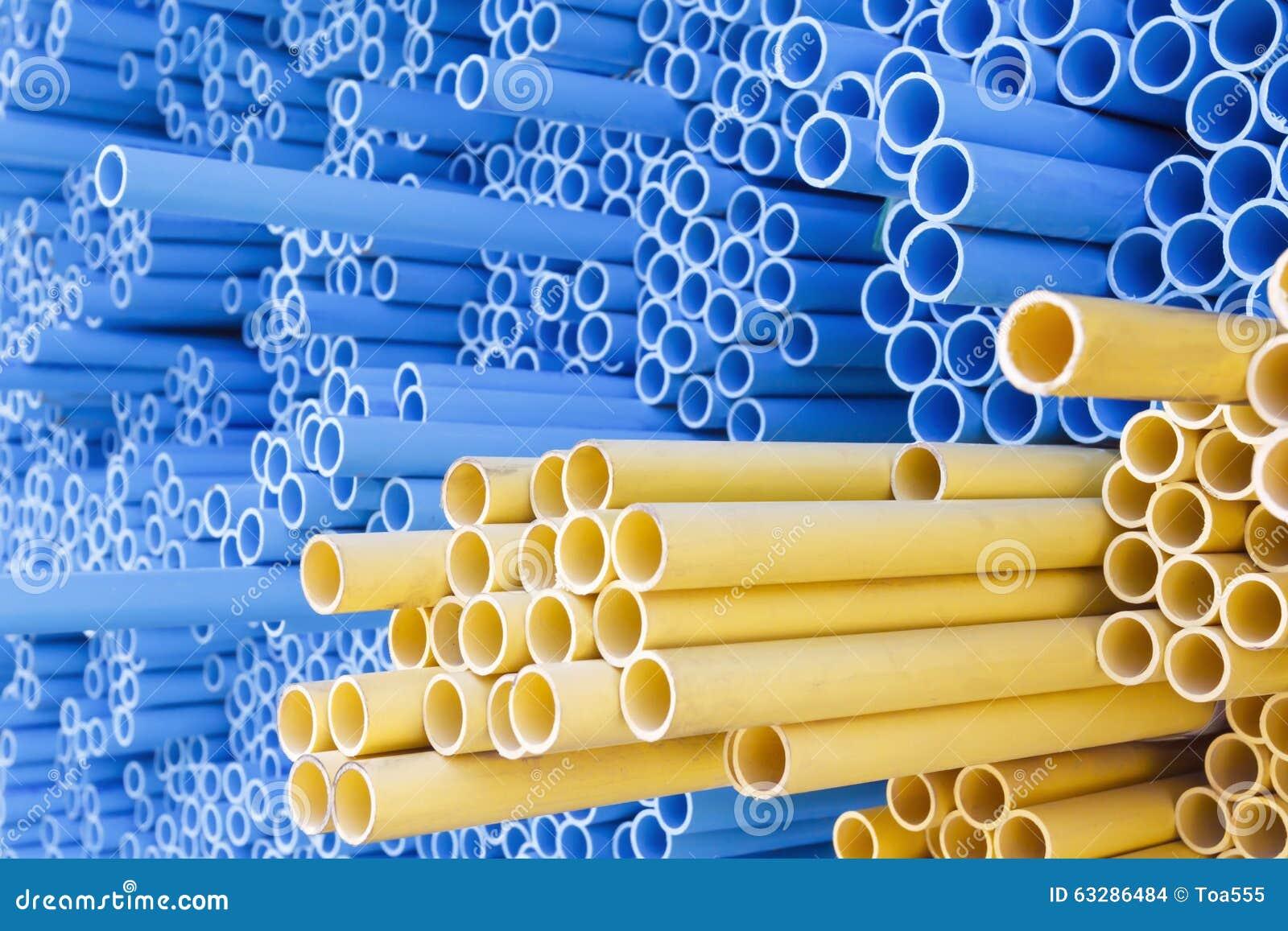 Tubi del PVC per il condotto elettrico e l acqua