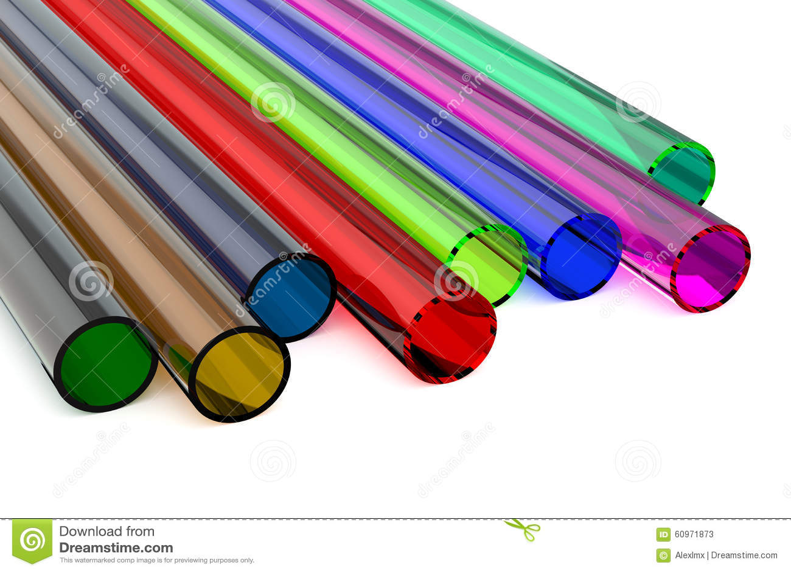 Tubi in plastica colorati raccordi tubi innocenti for Tipi di tubi idraulici in plastica