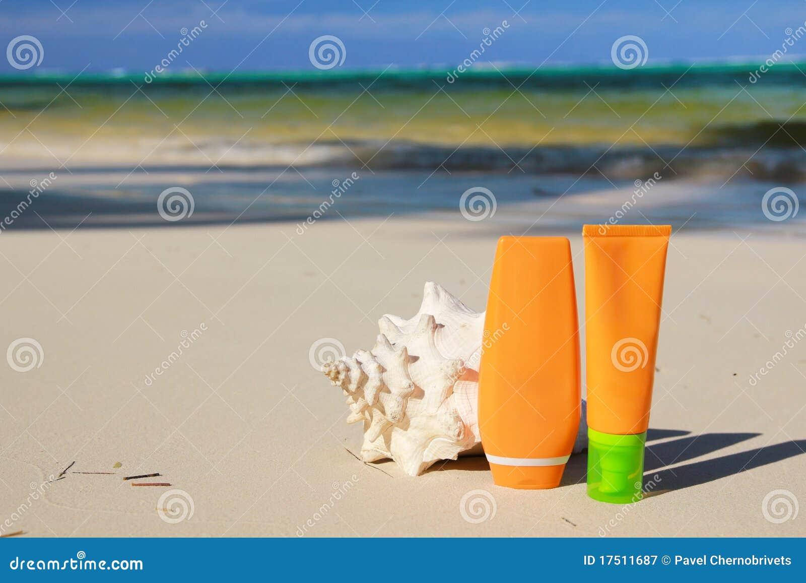 Tubi e seashell di protezione di Sun