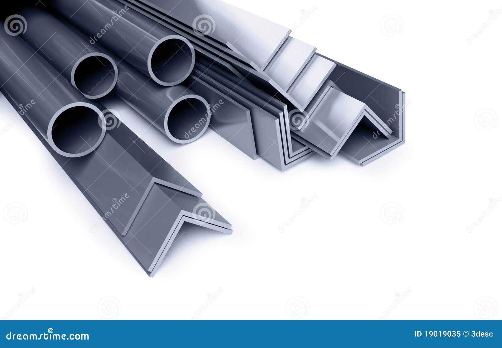 Tubi metallici angoli tipi illustrazione di stock for Tipi di tubi