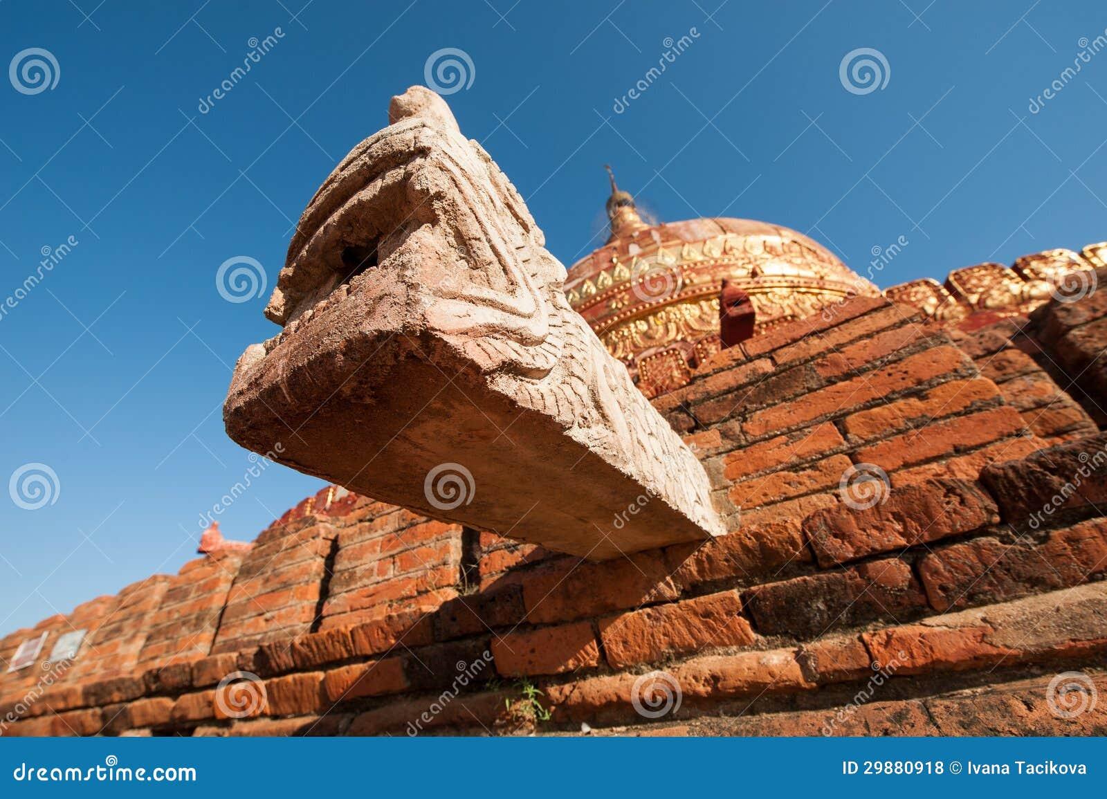 Pagoda di Damayzaka in Bagan, Myanmar