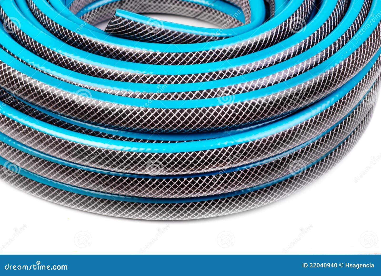 Tubo flessibile per innaffiare fotografia stock immagine for Timer per innaffiare