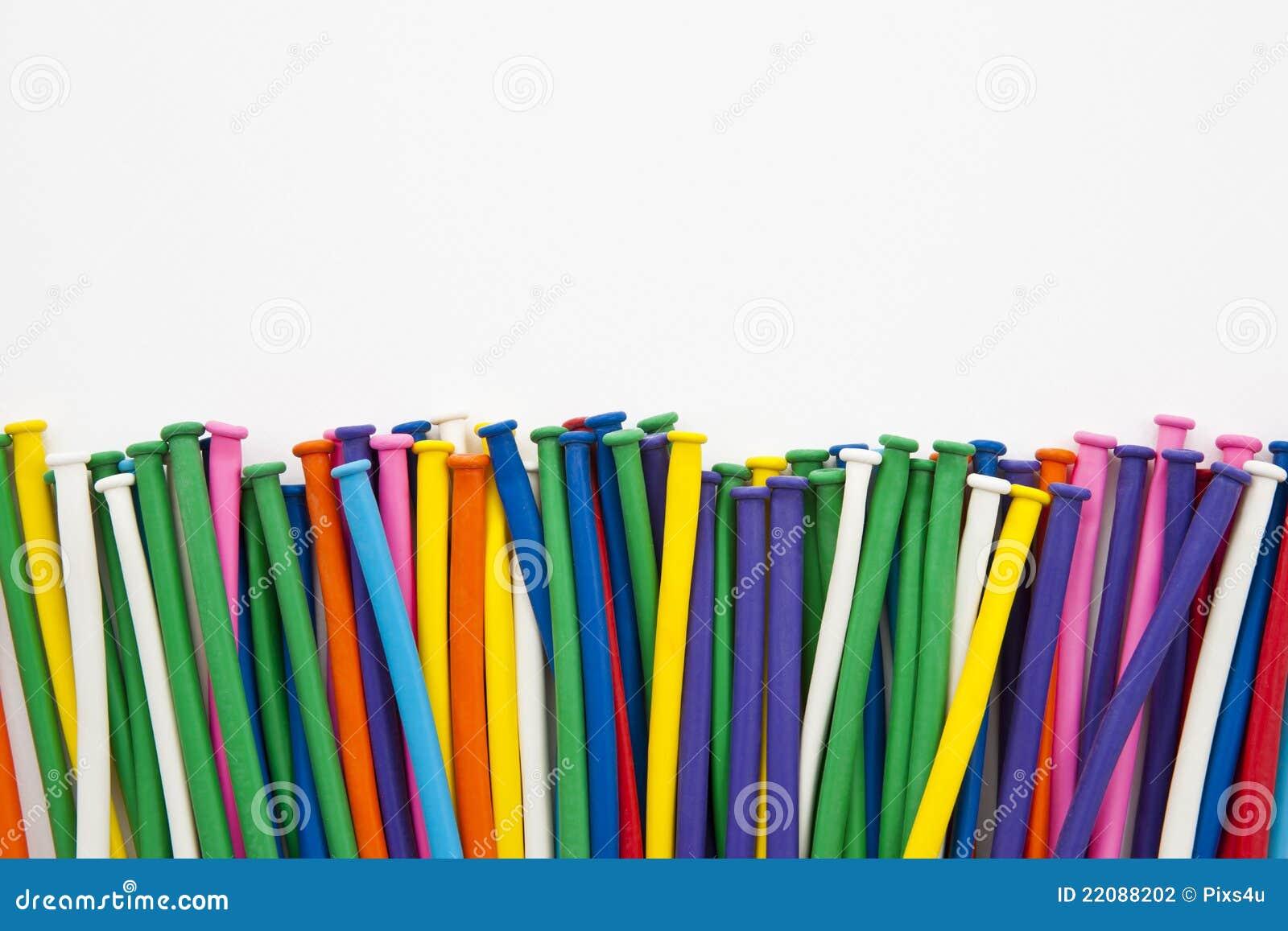 da4e4bf47 Tubo multicolor del globo foto de archivo. Imagen de cumpleaños ...