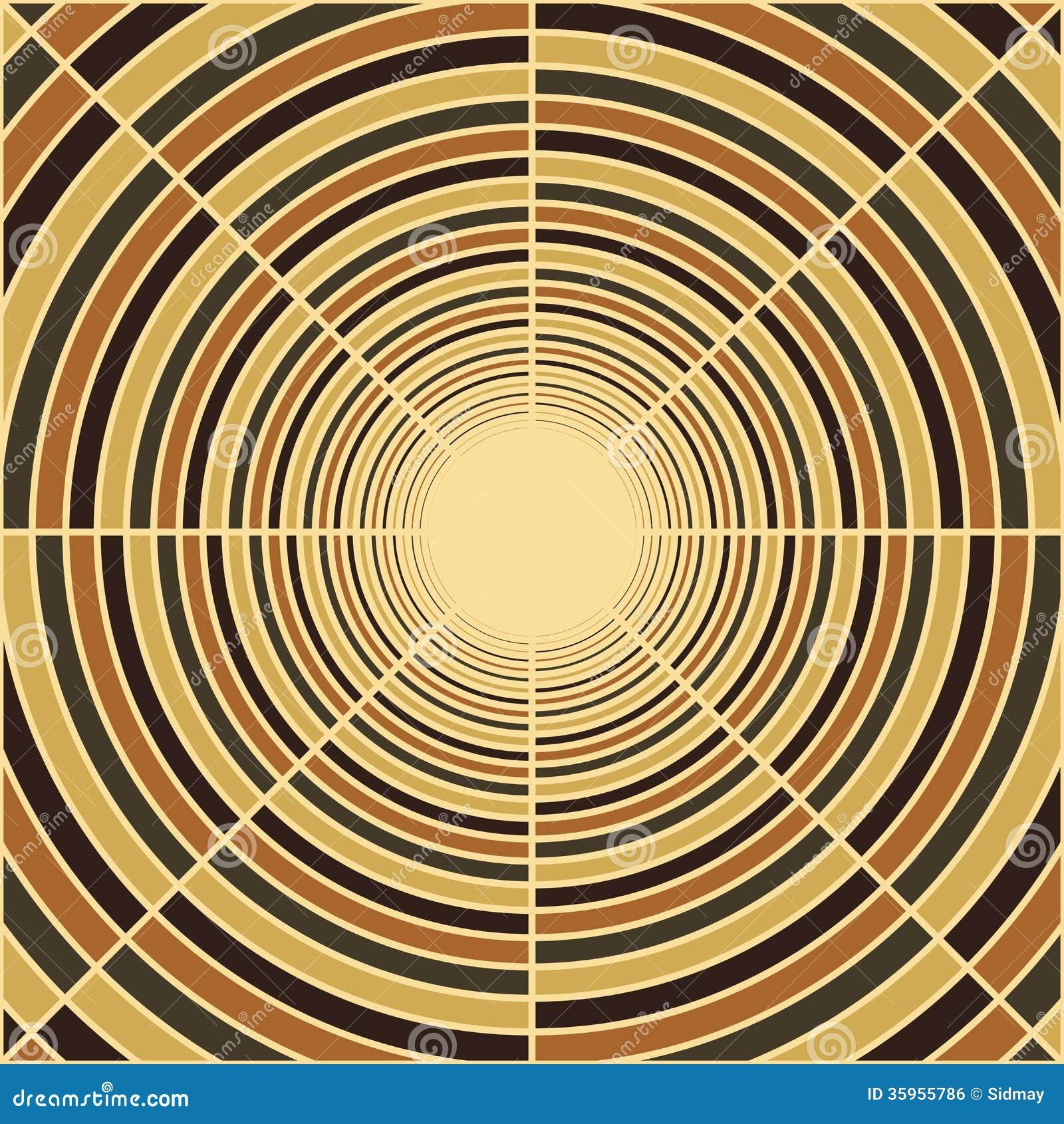 Tubo profundo abstracto, luz en el extremo del túnel