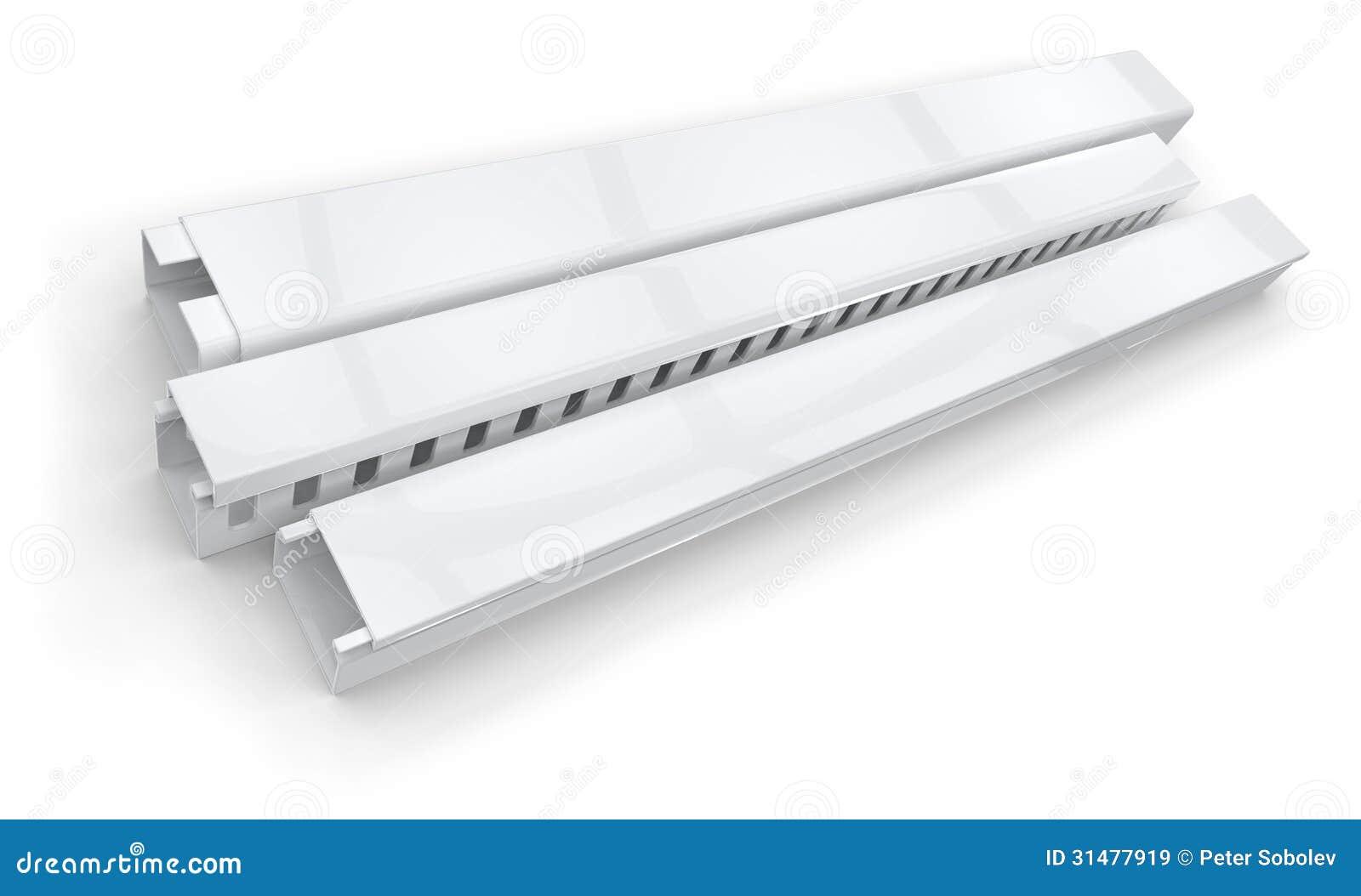Tubo protettivo per conduttori di plastica