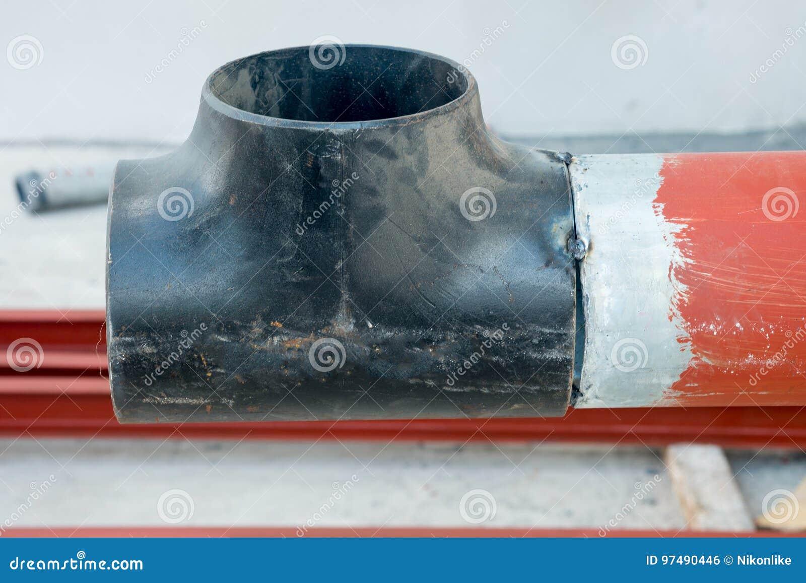 Tubo saldato sulla costruzione della conduttura