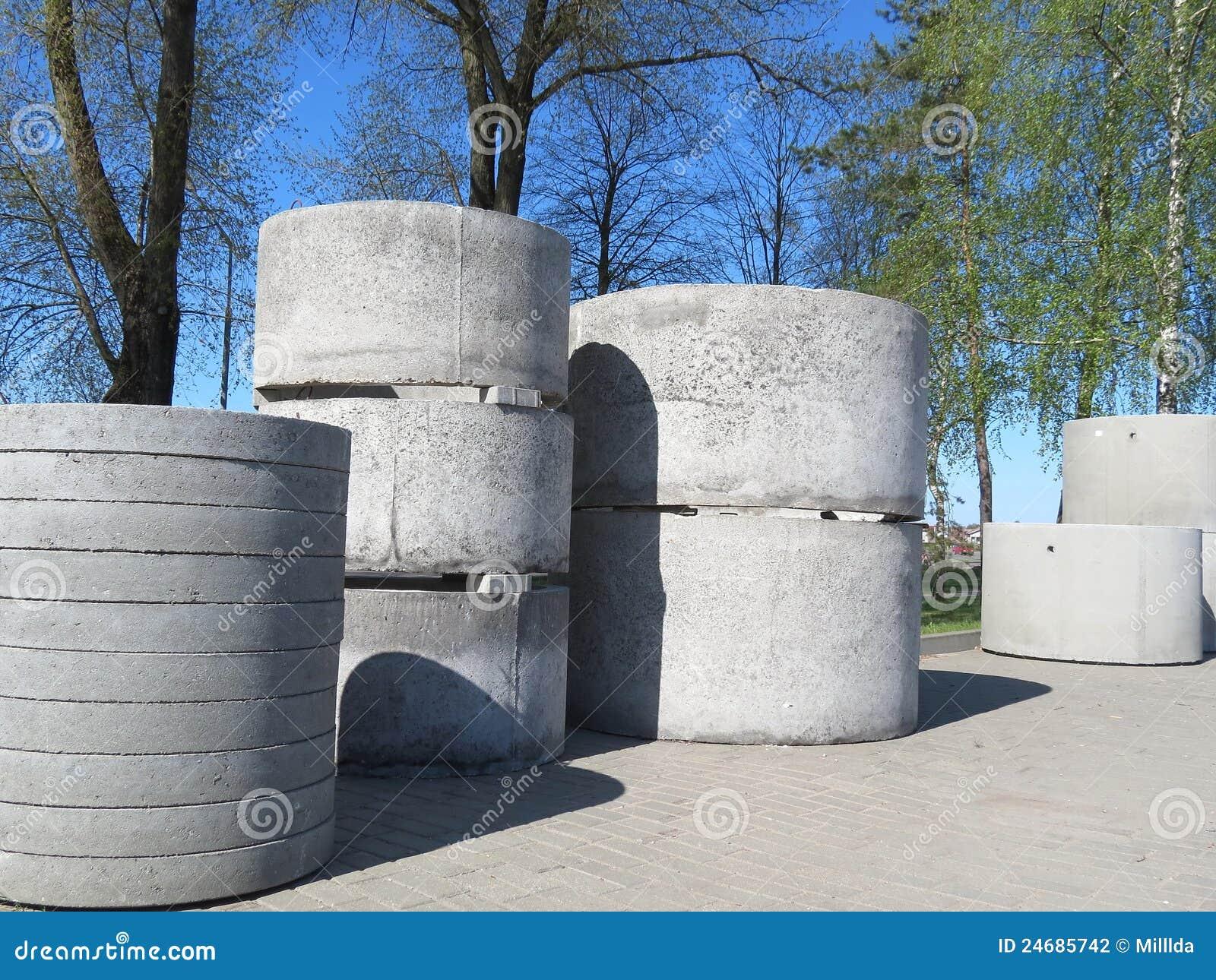 Tubos concretos
