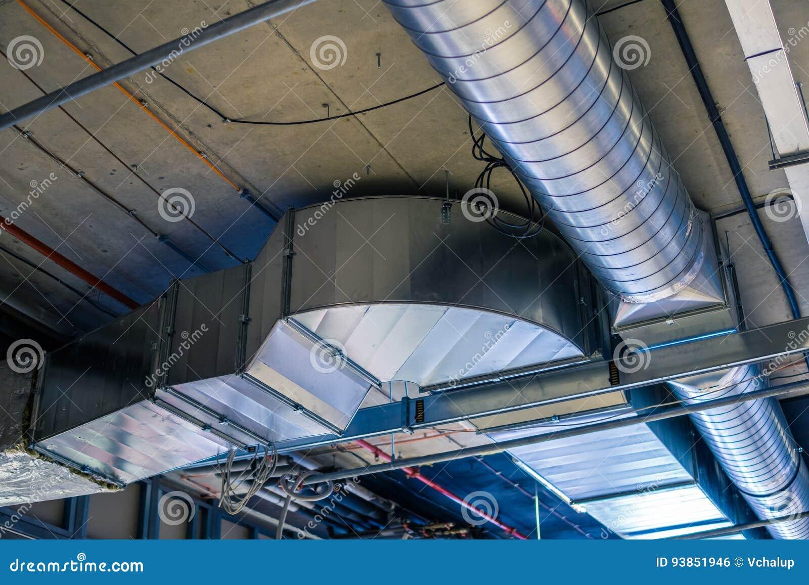 Tubos de ventilación y de aire acondicionado de la calefacción del sistema de la HVAC