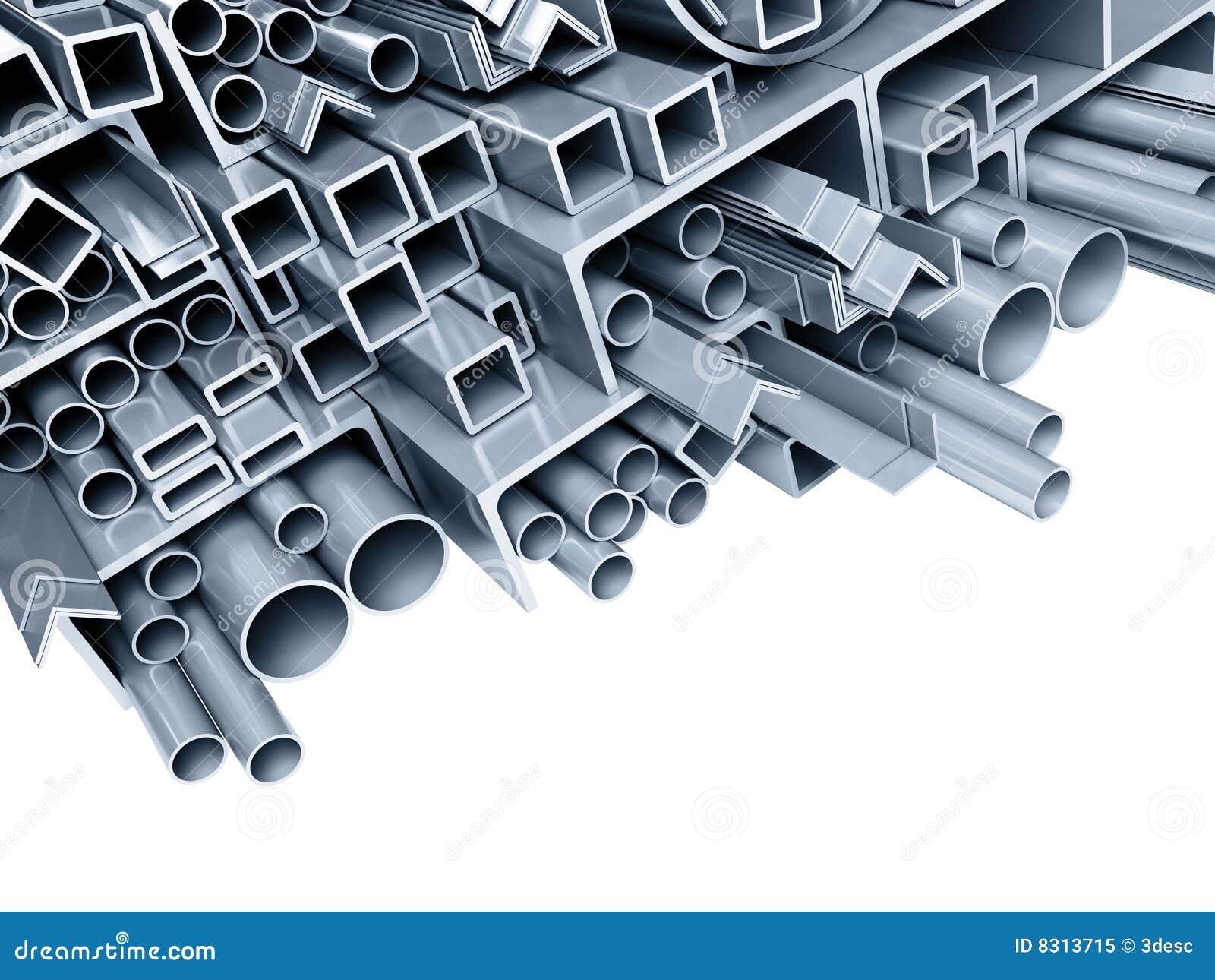 Tubos Met 225 Licos Del Fondo Imagen De Archivo Imagen De