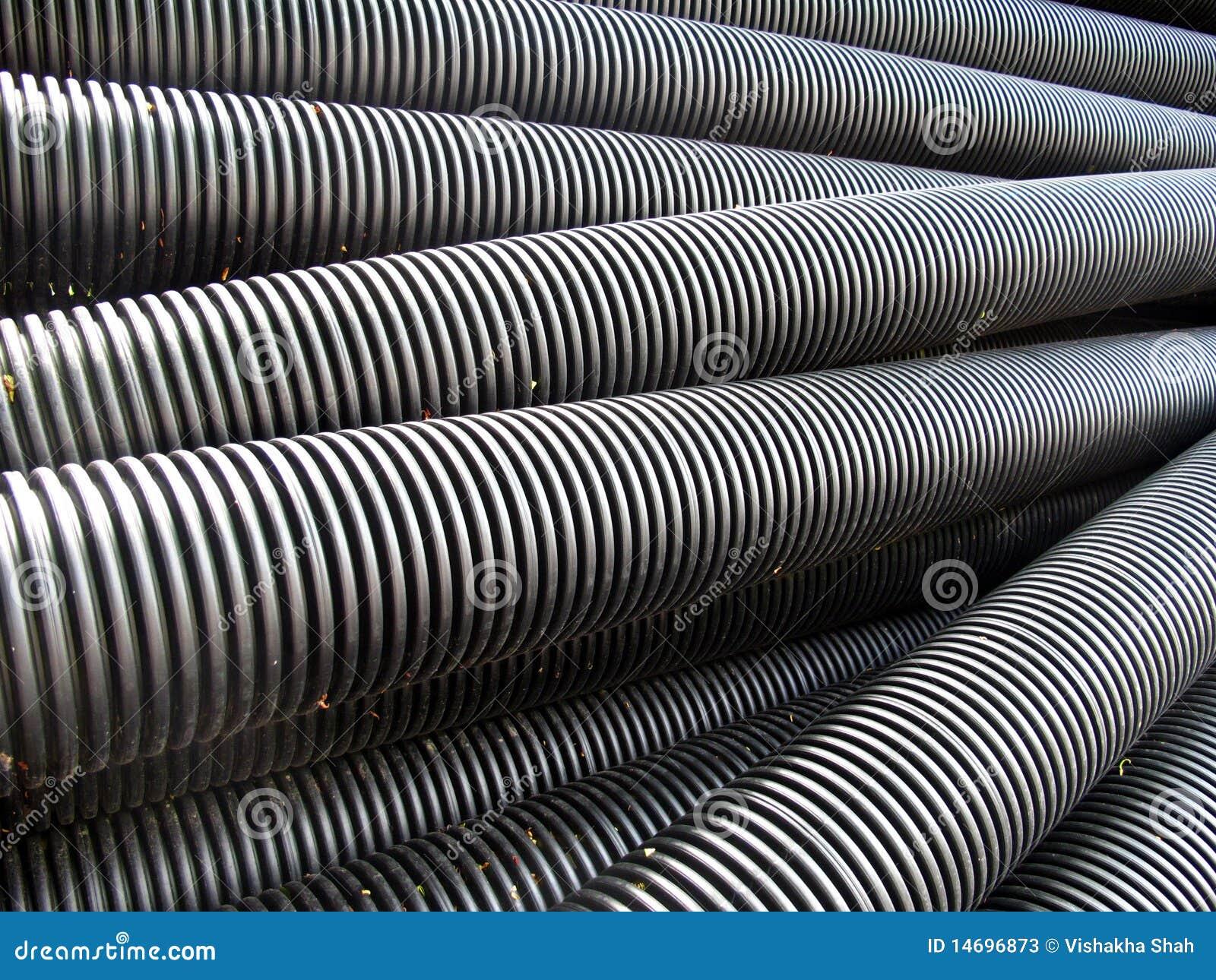 Tubos plásticos del drenaje