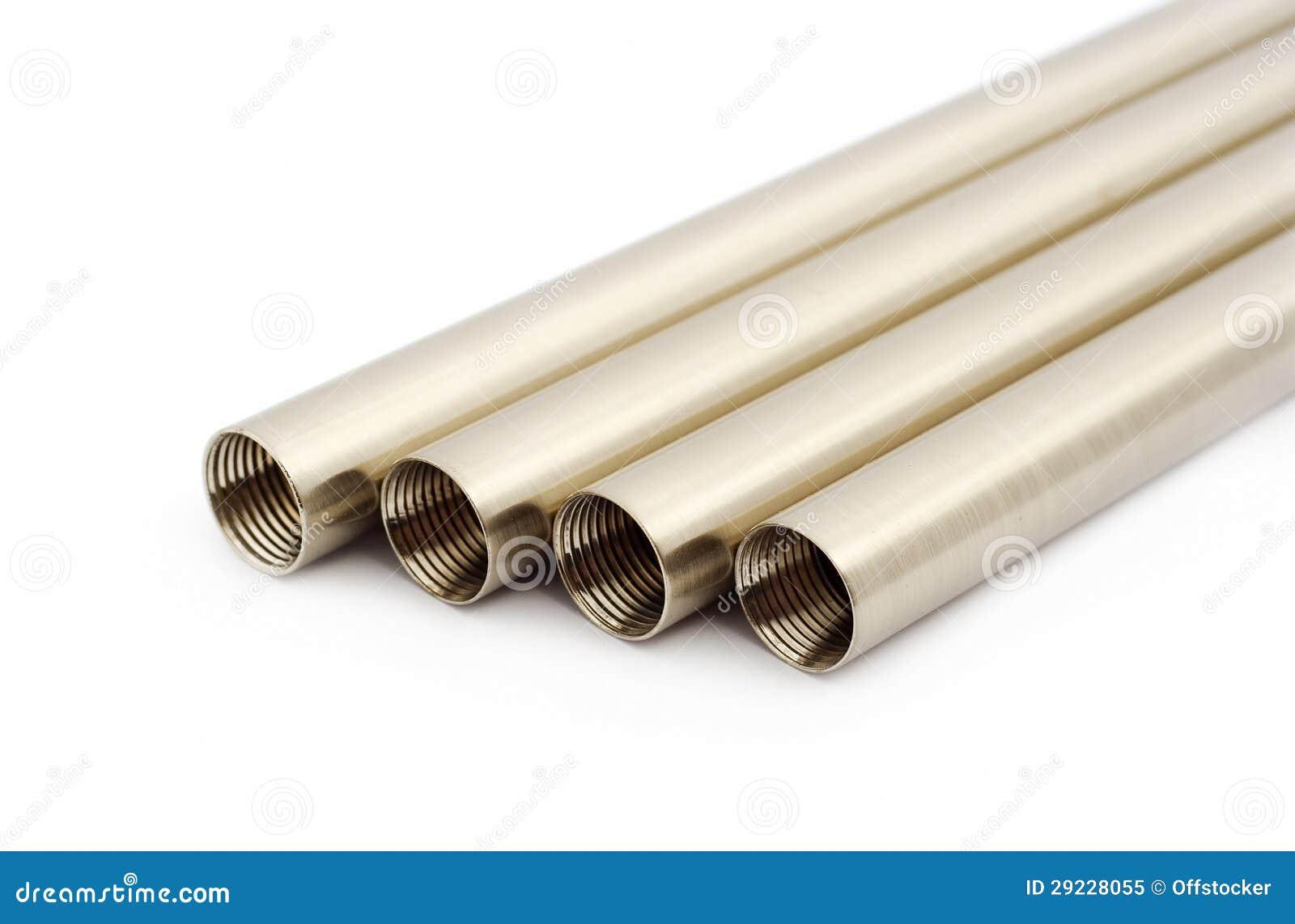 Download Tubulações do metal imagem de stock. Imagem de engenharia - 29228055