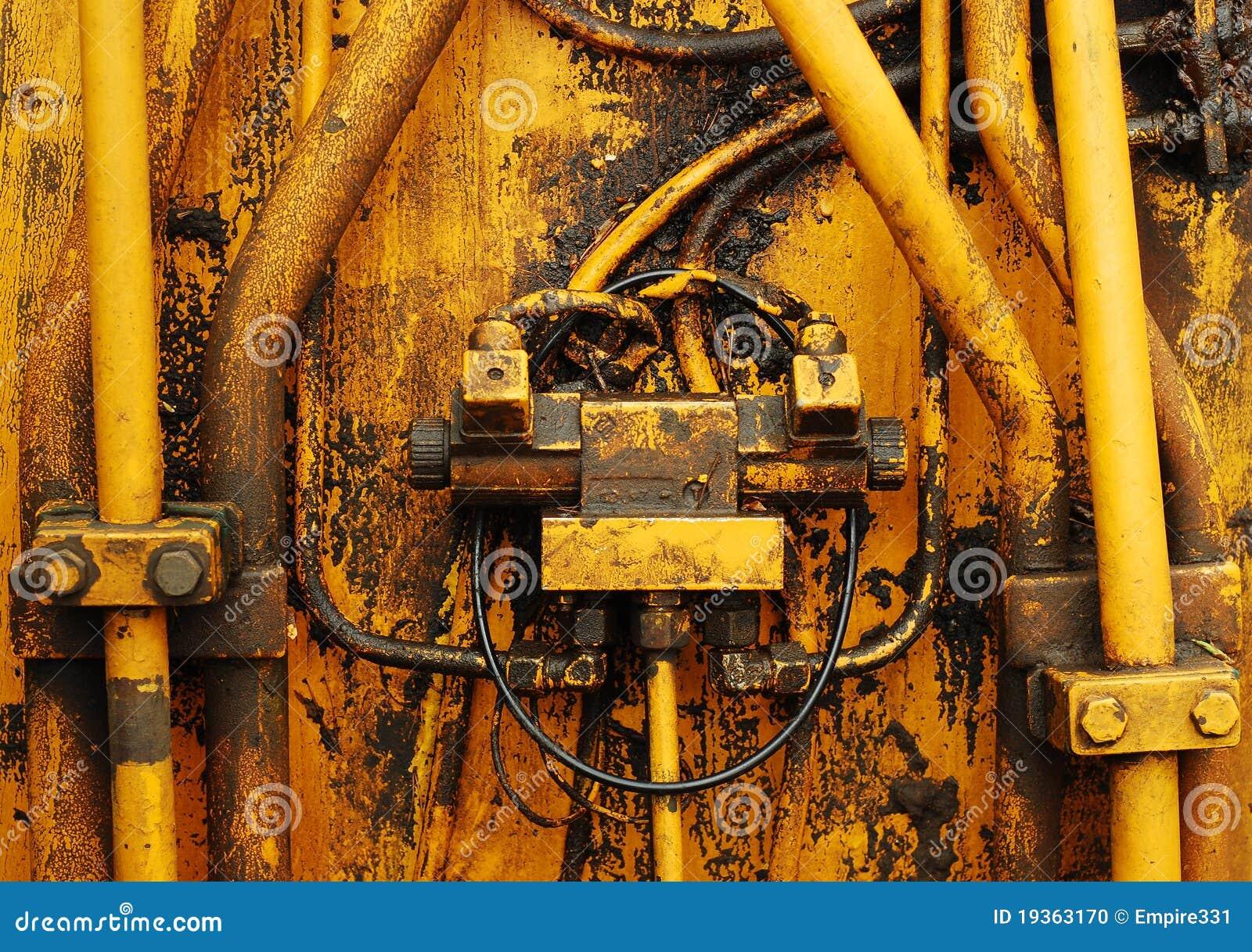 Tubulações do motor
