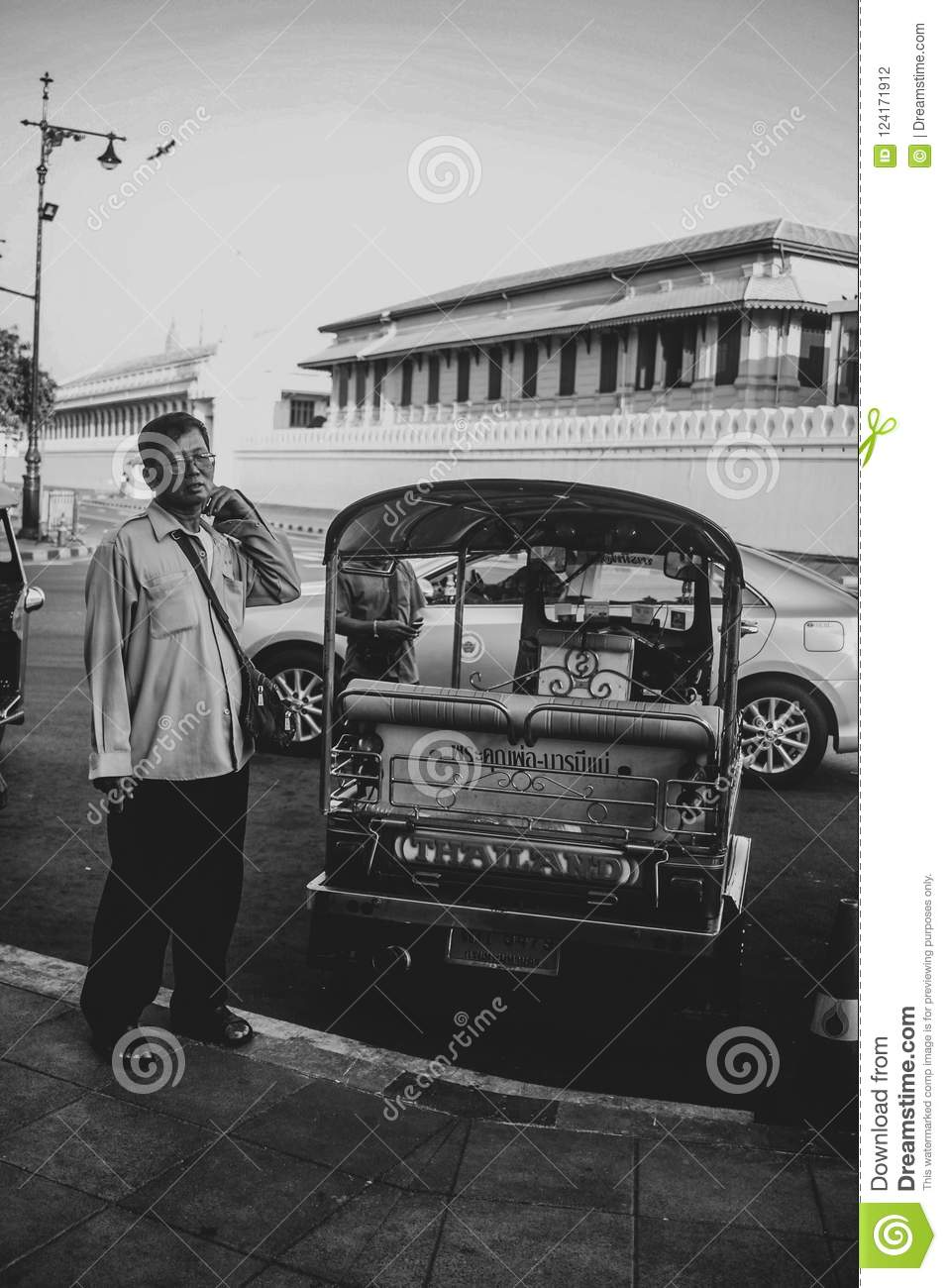 Tuc-tuc editorial photography  Image of taxi, business
