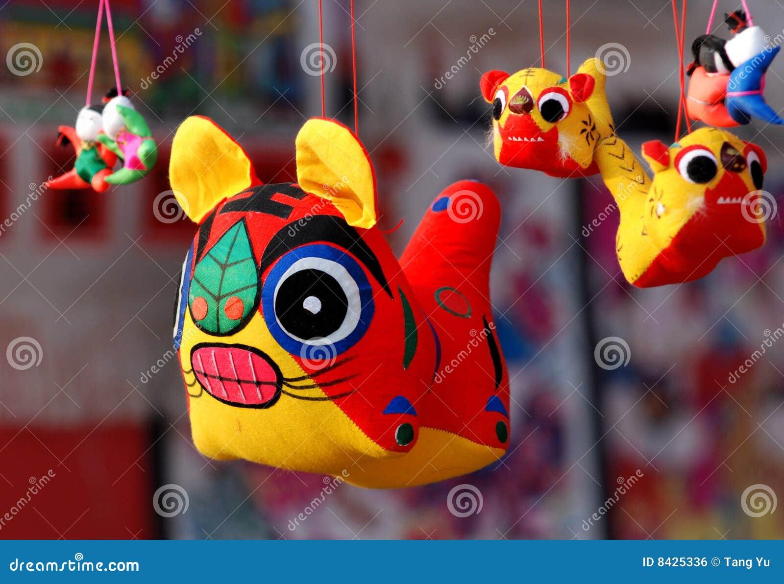 Tuch-Tiger-Spielzeug