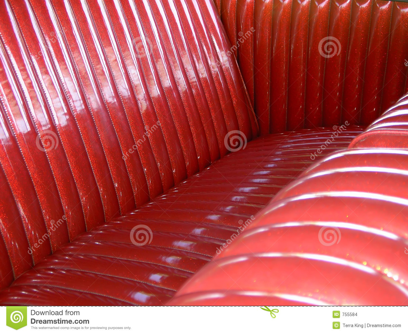 Tuck And Roll Upholstery Stock Photo Image Of Classic 755584
