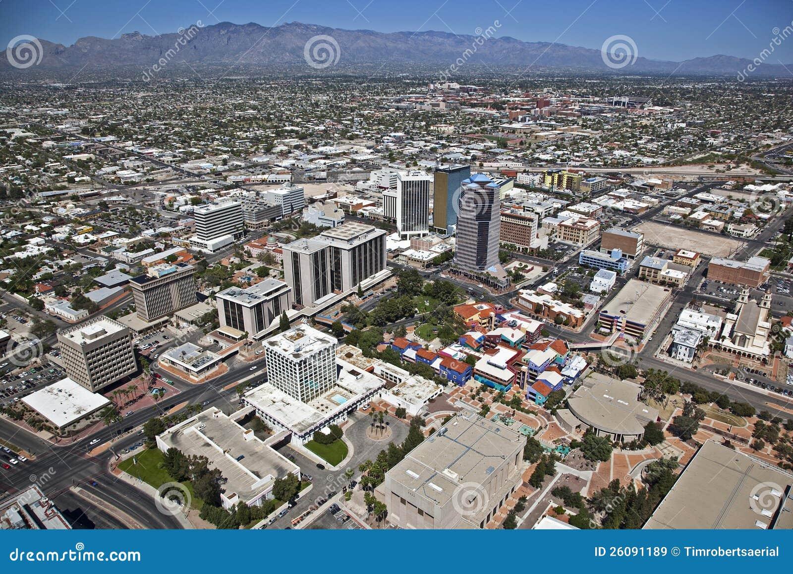 Tucson van de binnenstad, Arizona