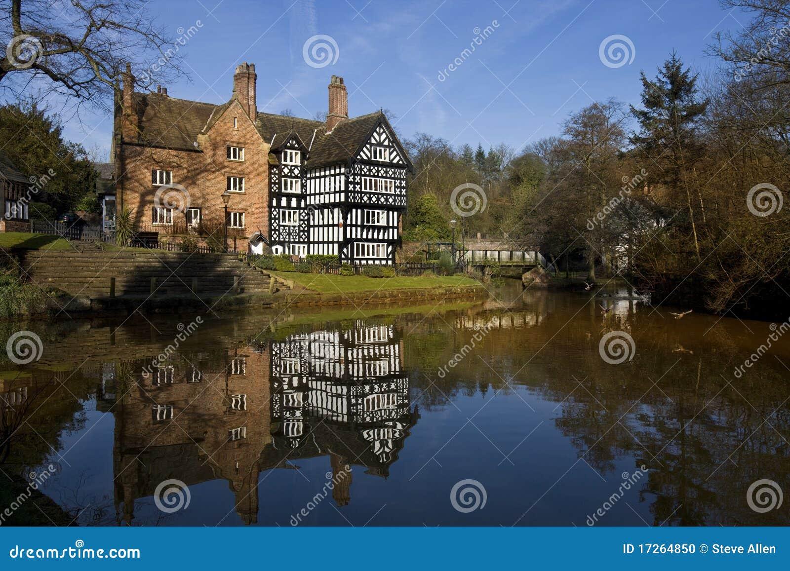Tudor Building - Bridgewater Canal - England