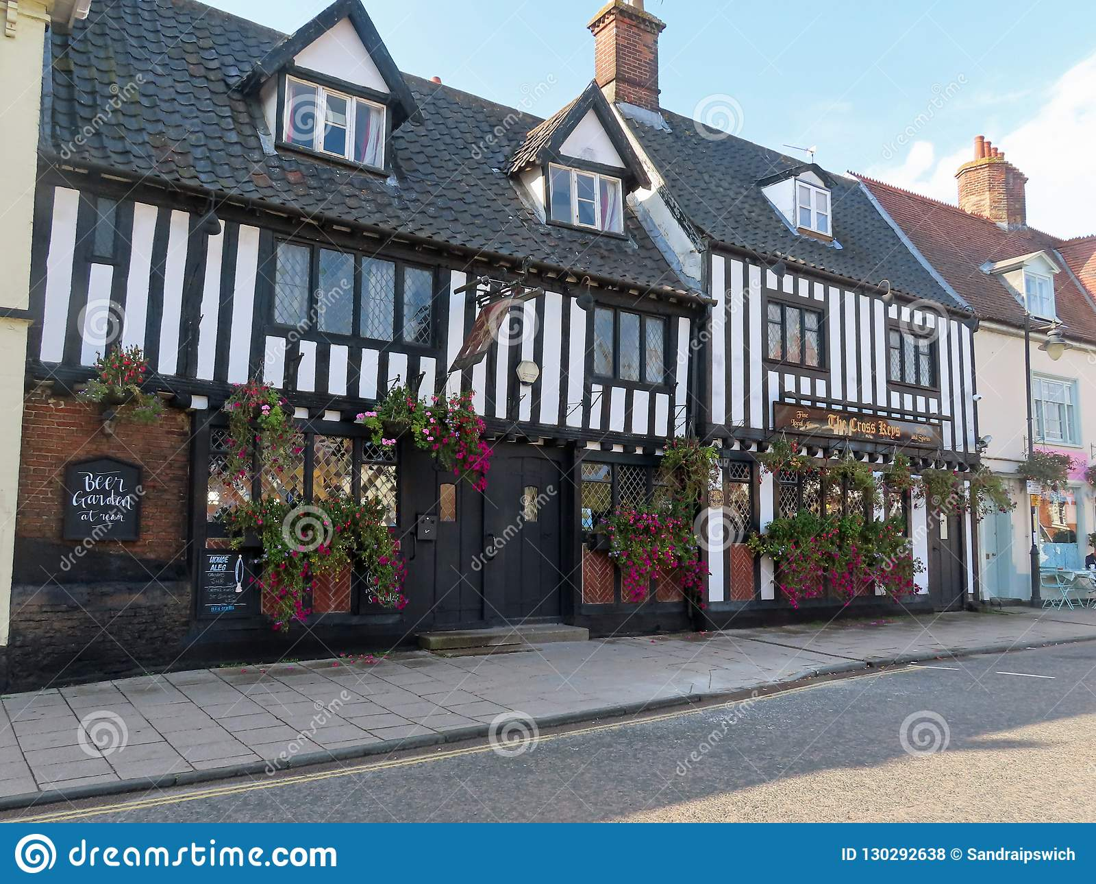 The Cross Keys Wymondham Editorial Stock Photo Image Of House