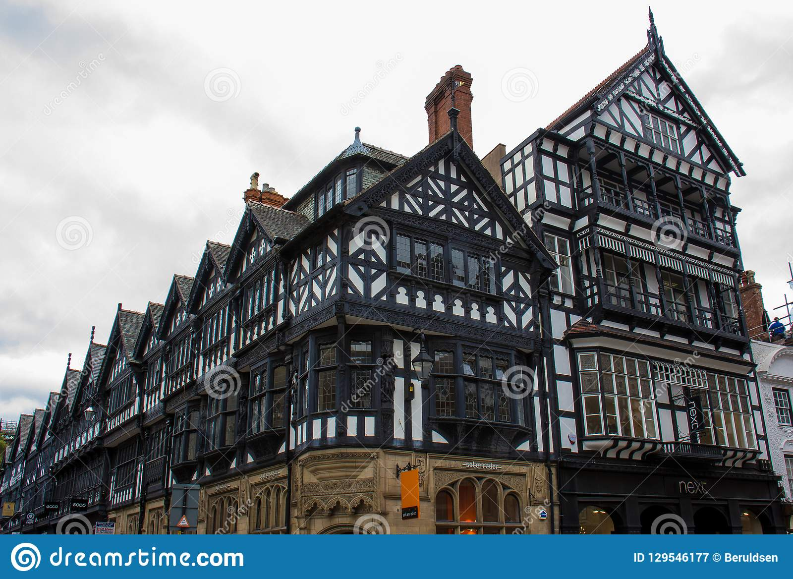Tudor Buildings à Chester, Angleterre