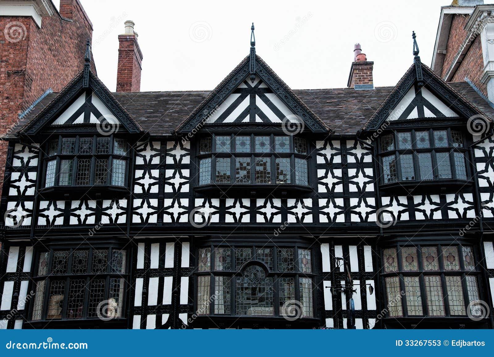 Tudor Buildings Stock Photos Image 33267553