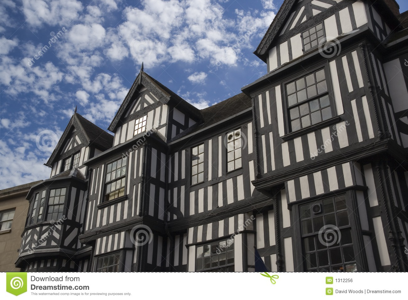 Royalty-Free Stock Photo. Download Tudor facade ...