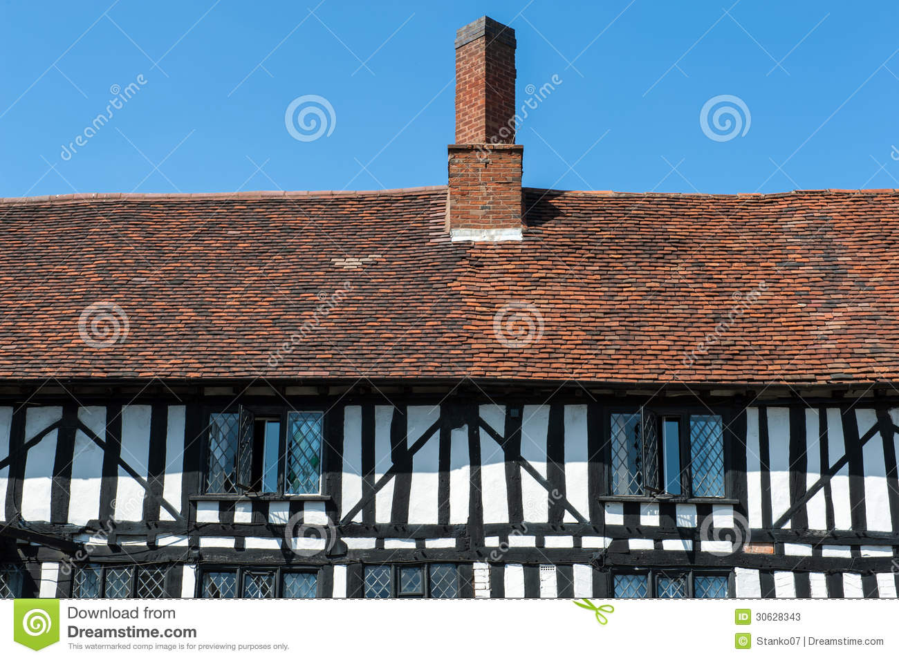 Tudor House Details Stock Photos Image 30628343