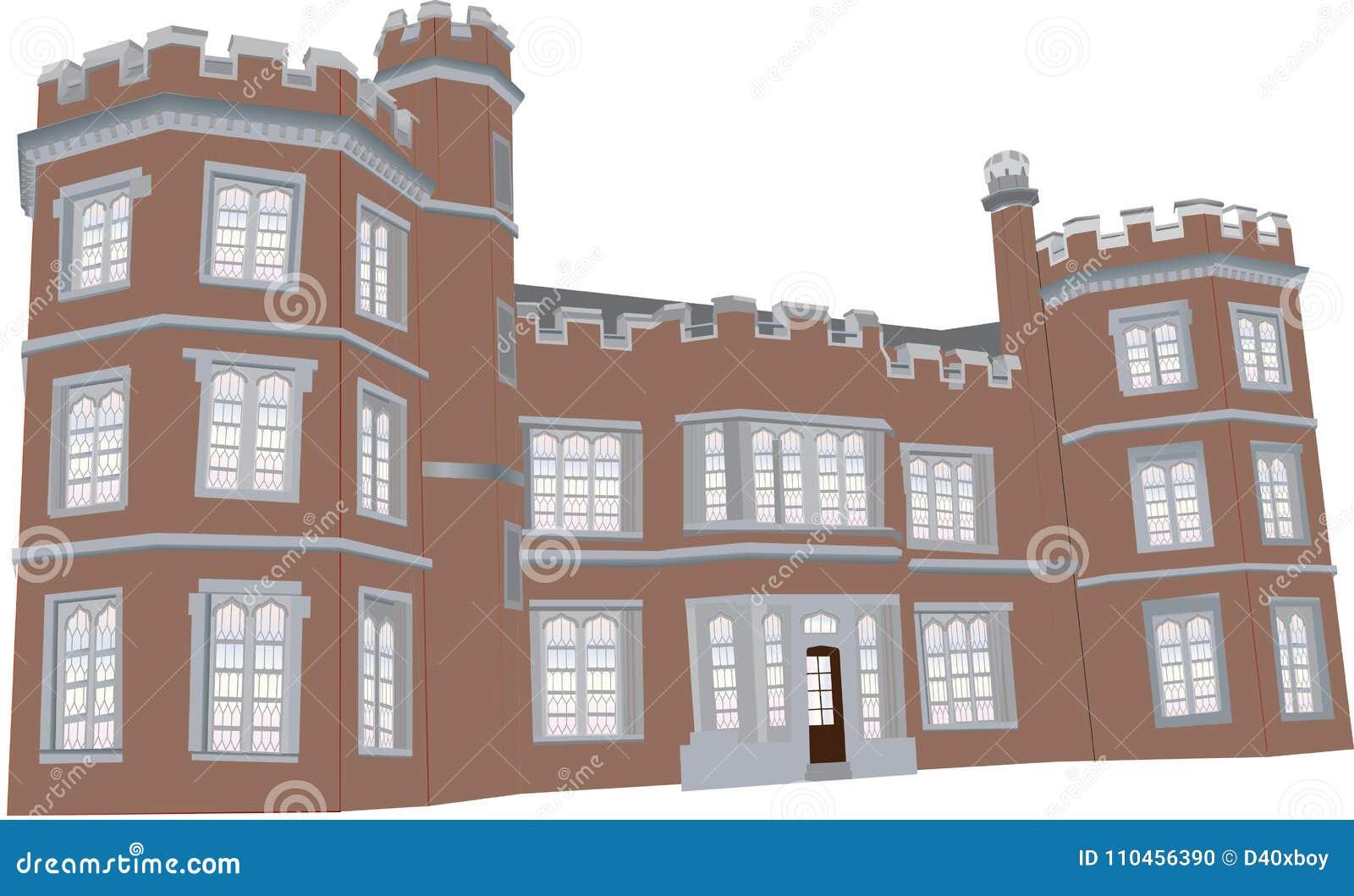Tudor mangårdsbyggnad