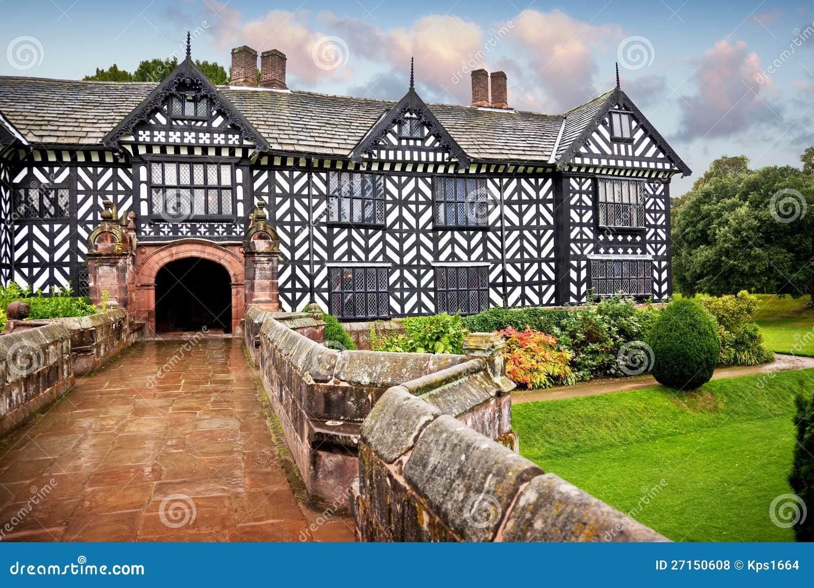Tudor Manor House Stock Photo Image Of Exterior Facade